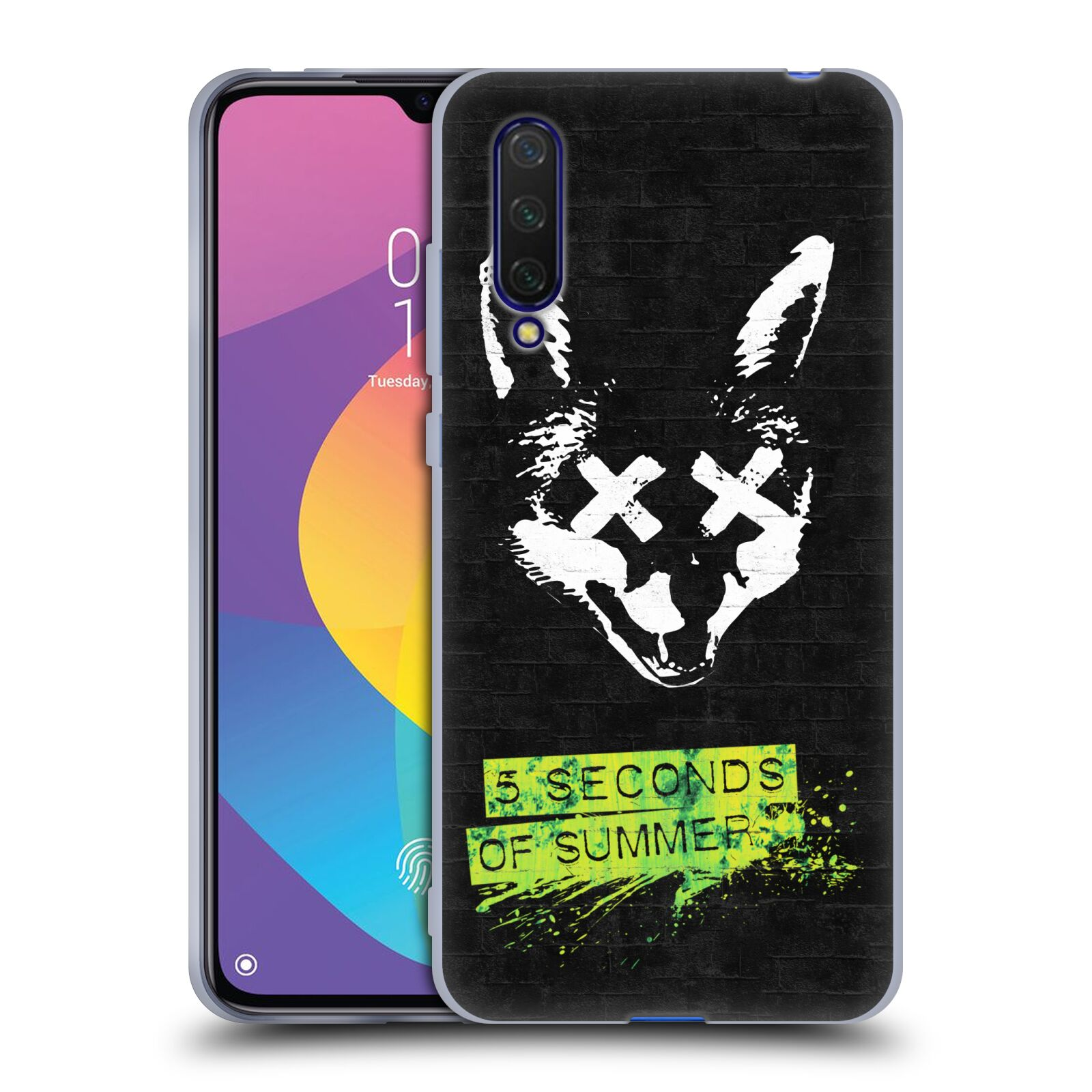 Silikonové pouzdro na mobil Xiaomi Mi 9 Lite - Head Case - 5 Seconds of Summer - Fox