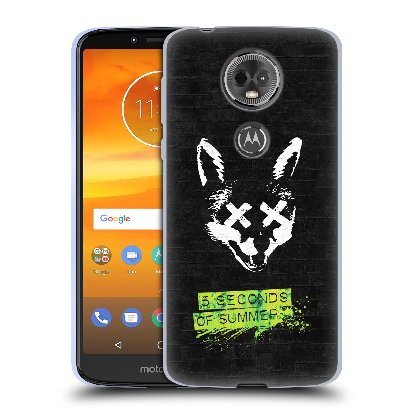 Silikonové pouzdro na mobil Motorola Moto E5 Plus - Head Case - 5 Seconds of Summer - Fox