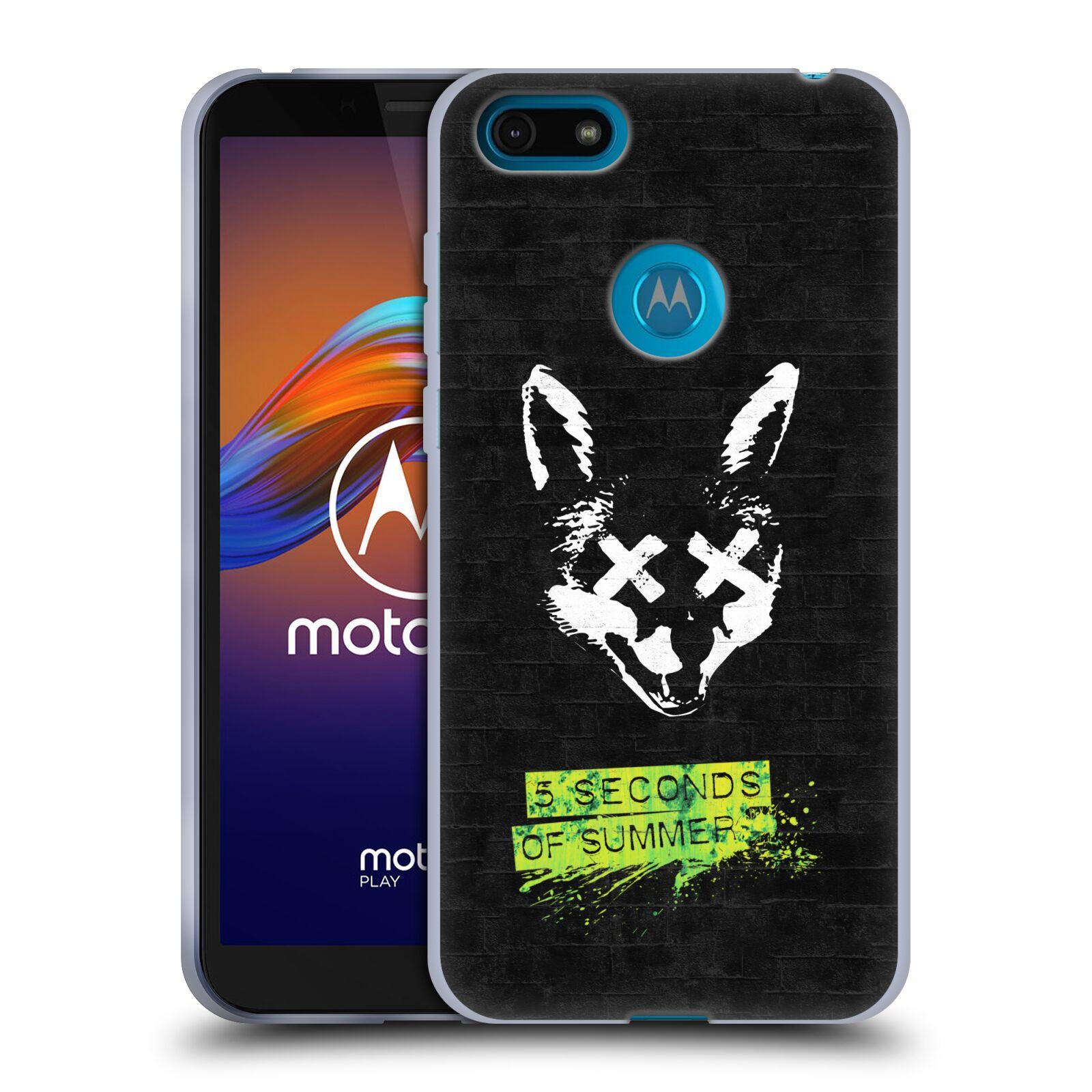 Silikonové pouzdro na mobil Motorola Moto E6 Play - Head Case - 5 Seconds of Summer - Fox