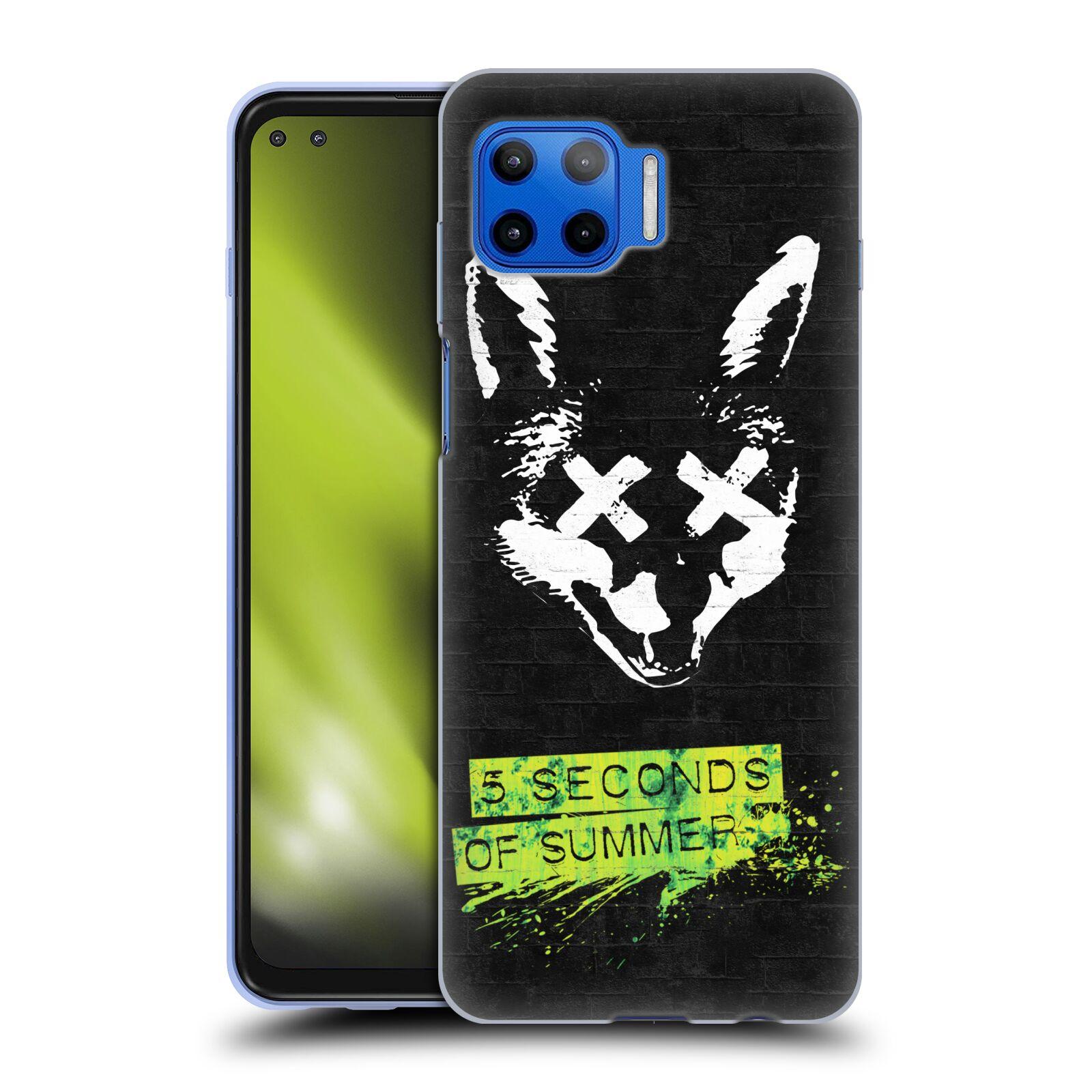 Silikonové pouzdro na mobil Motorola Moto G 5G Plus - Head Case - 5 Seconds of Summer - Fox