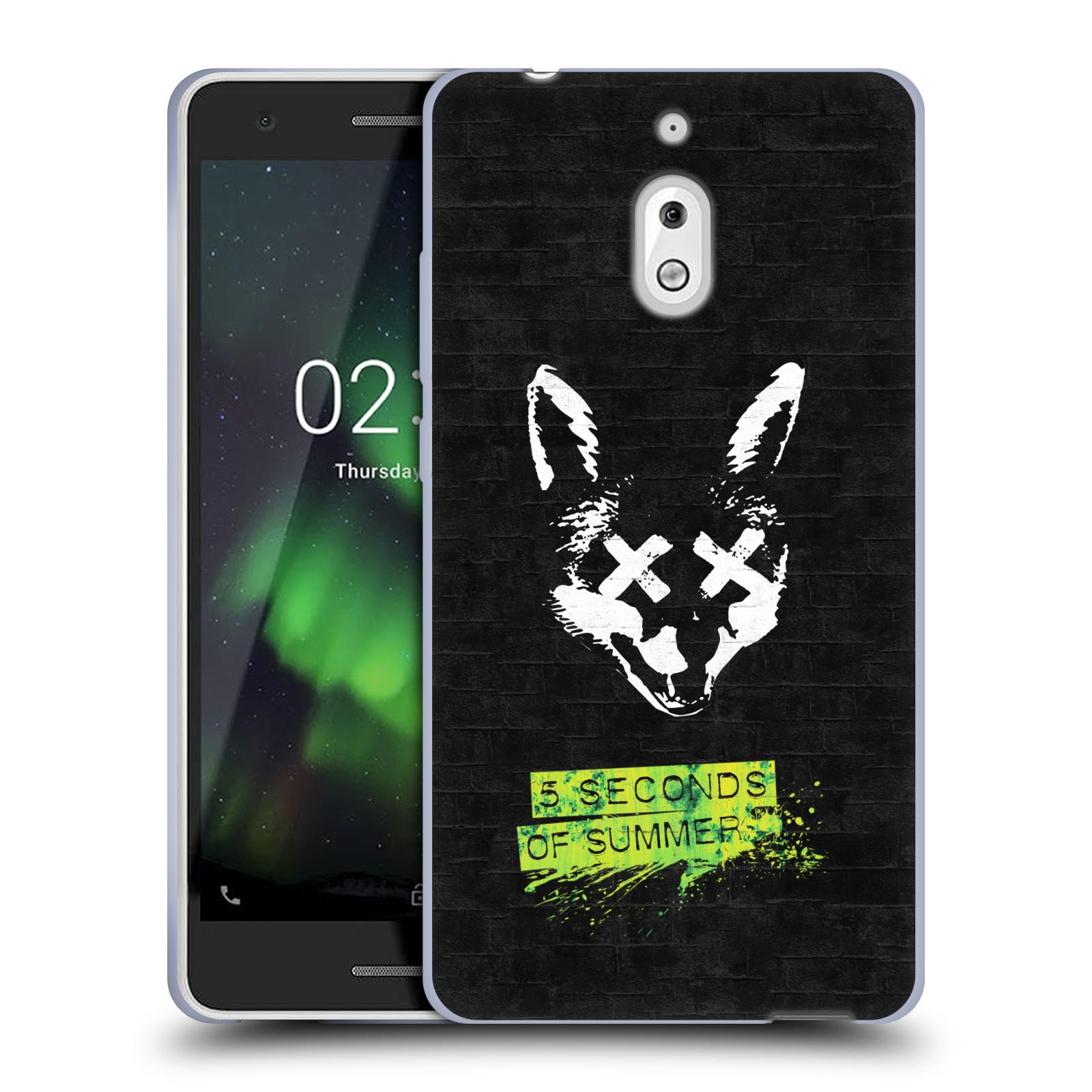 Silikonové pouzdro na mobil Nokia 2.1 - Head Case - 5 Seconds of Summer - Fox