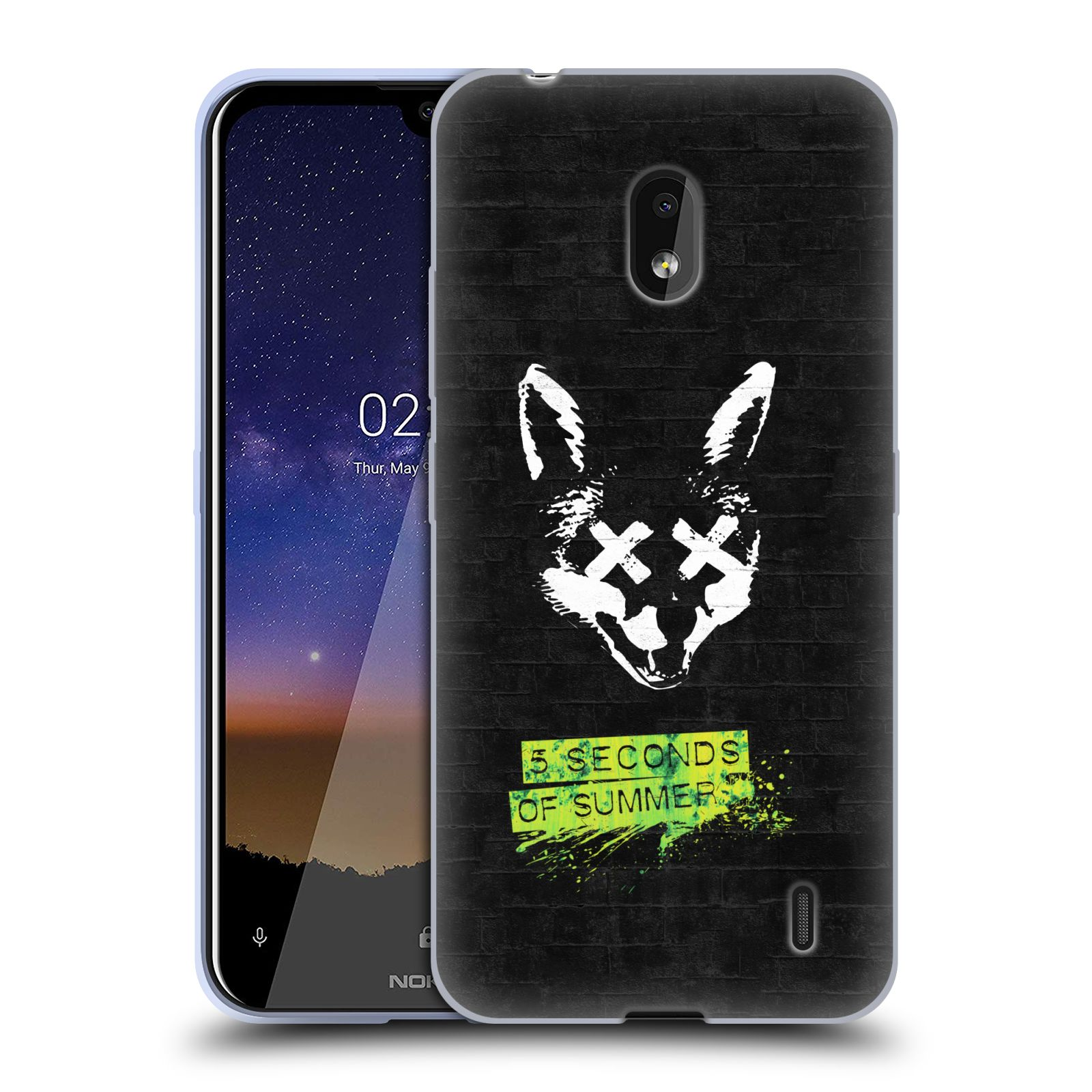 Silikonové pouzdro na mobil Nokia 2.2 - Head Case - 5 Seconds of Summer - Fox