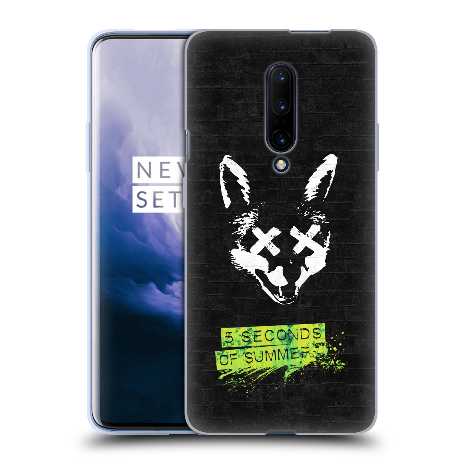 Silikonové pouzdro na mobil OnePlus 7 Pro - Head Case - 5 Seconds of Summer - Fox
