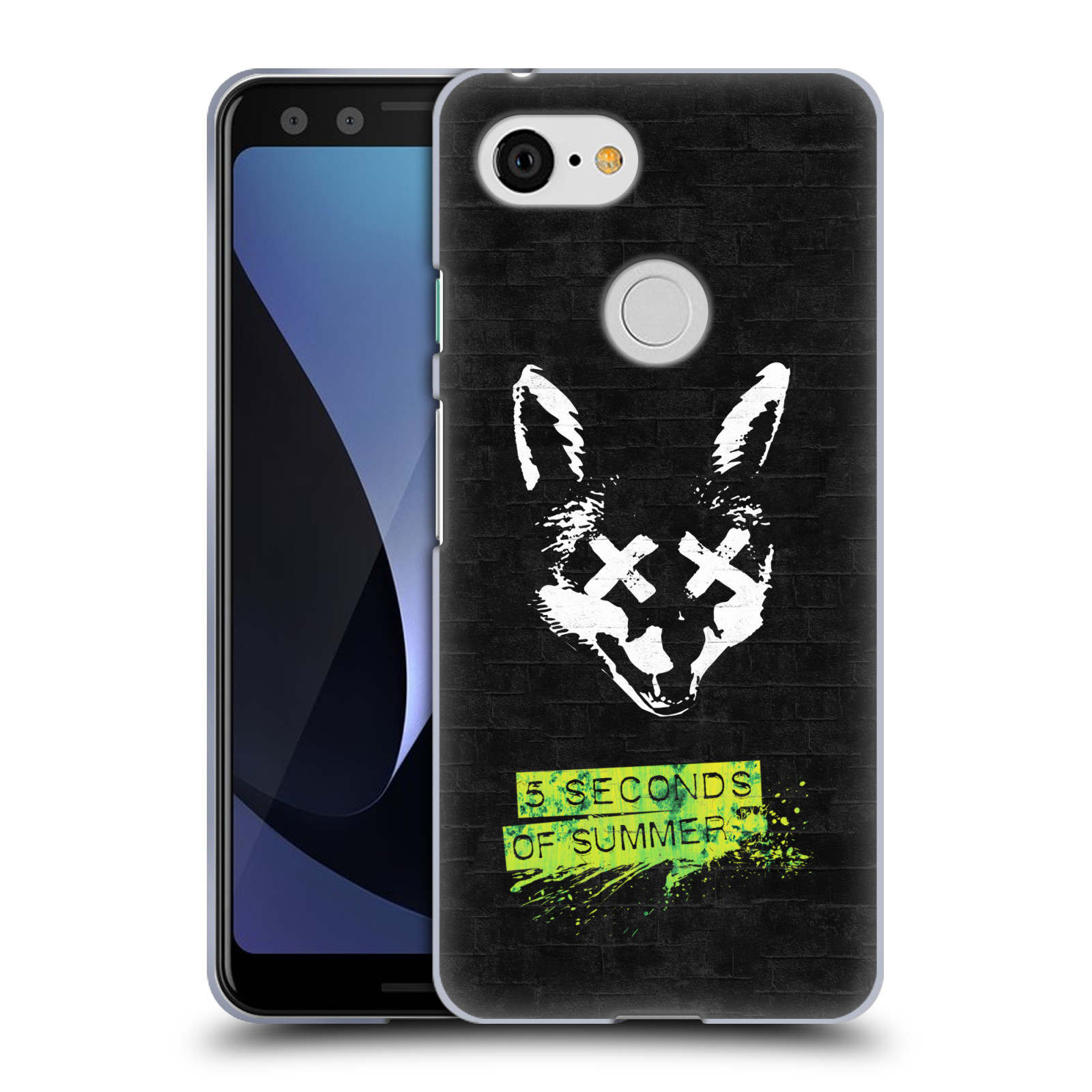 Silikonové pouzdro na mobil Google Pixel 3 - Head Case - 5 Seconds of Summer - Fox