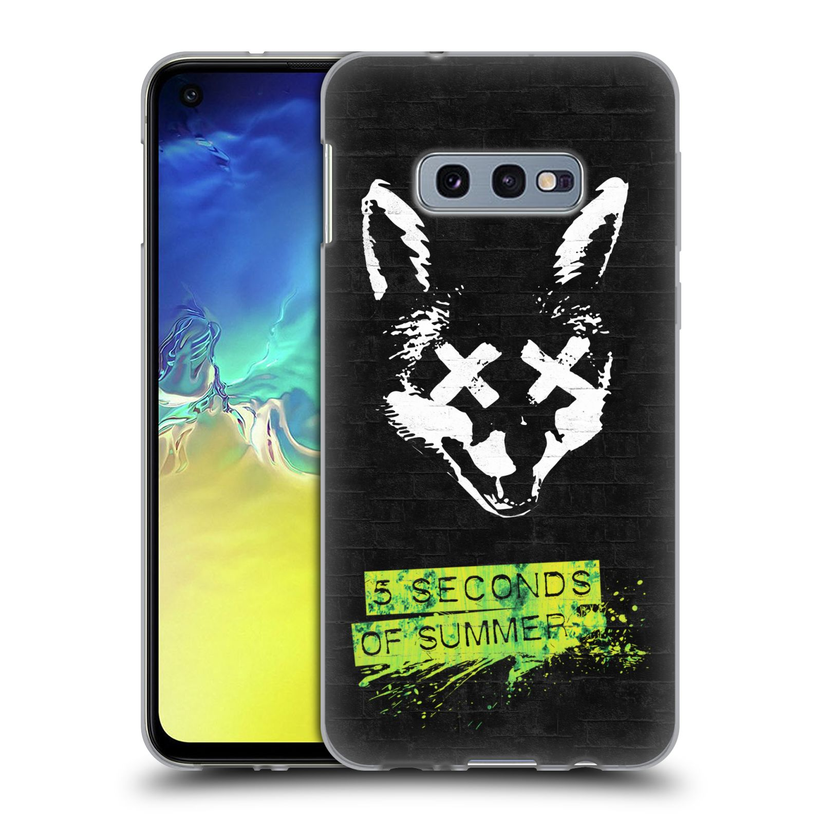 Silikonové pouzdro na mobil Samsung Galaxy S10e - Head Case - 5 Seconds of Summer - Fox