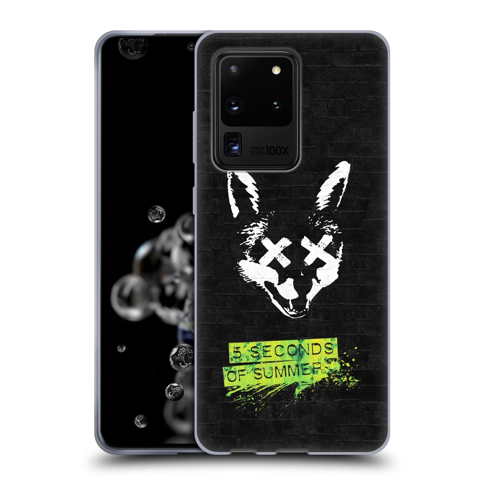 Silikonové pouzdro na mobil Samsung Galaxy S20 Ultra - Head Case - 5 Seconds of Summer - Fox