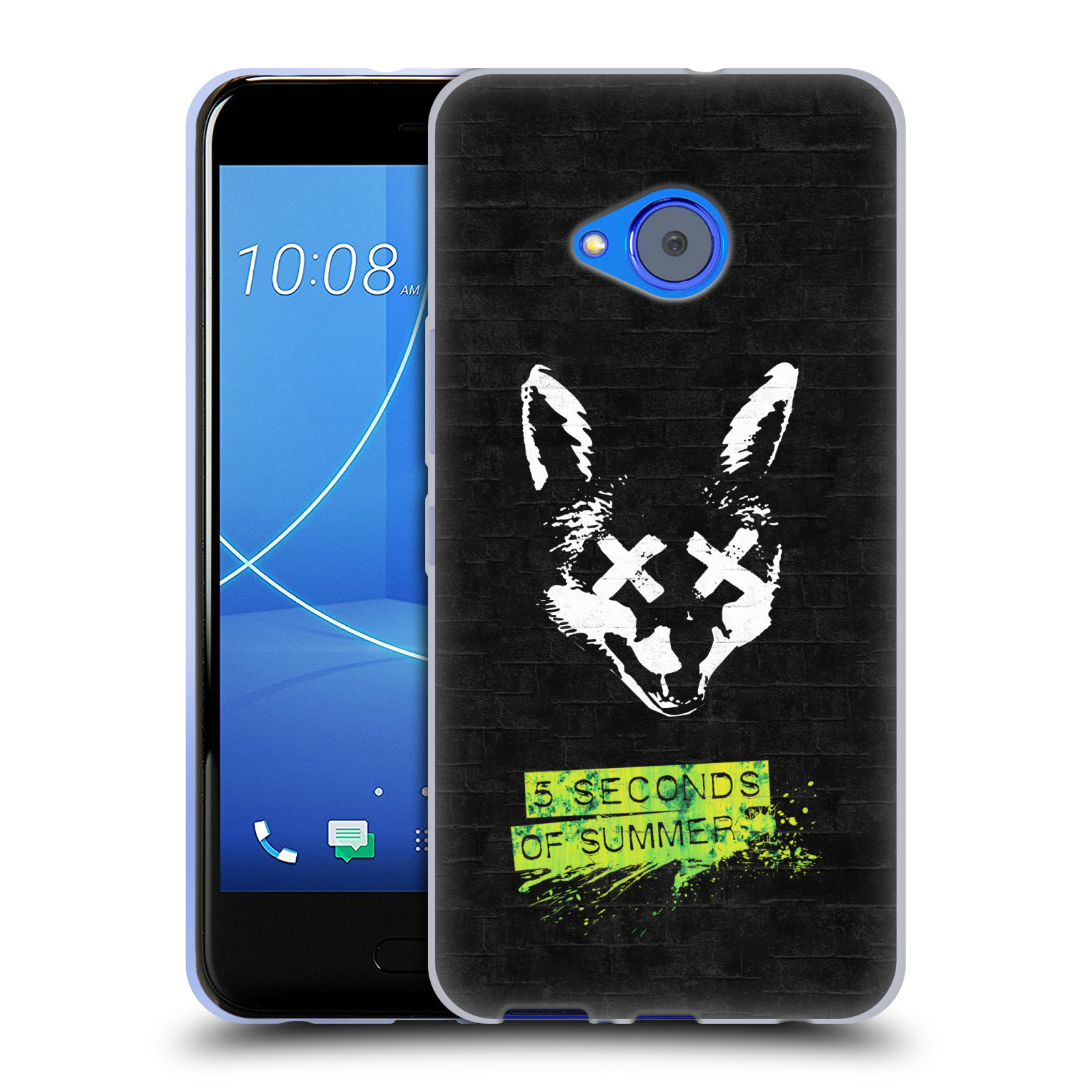Silikonové pouzdro na mobil HTC U11 Life - Head Case - 5 Seconds of Summer - Fox