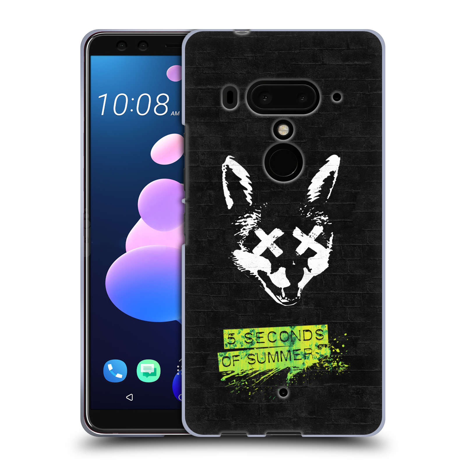 Silikonové pouzdro na mobil HTC U12 Plus - Head Case - 5 Seconds of Summer - Fox
