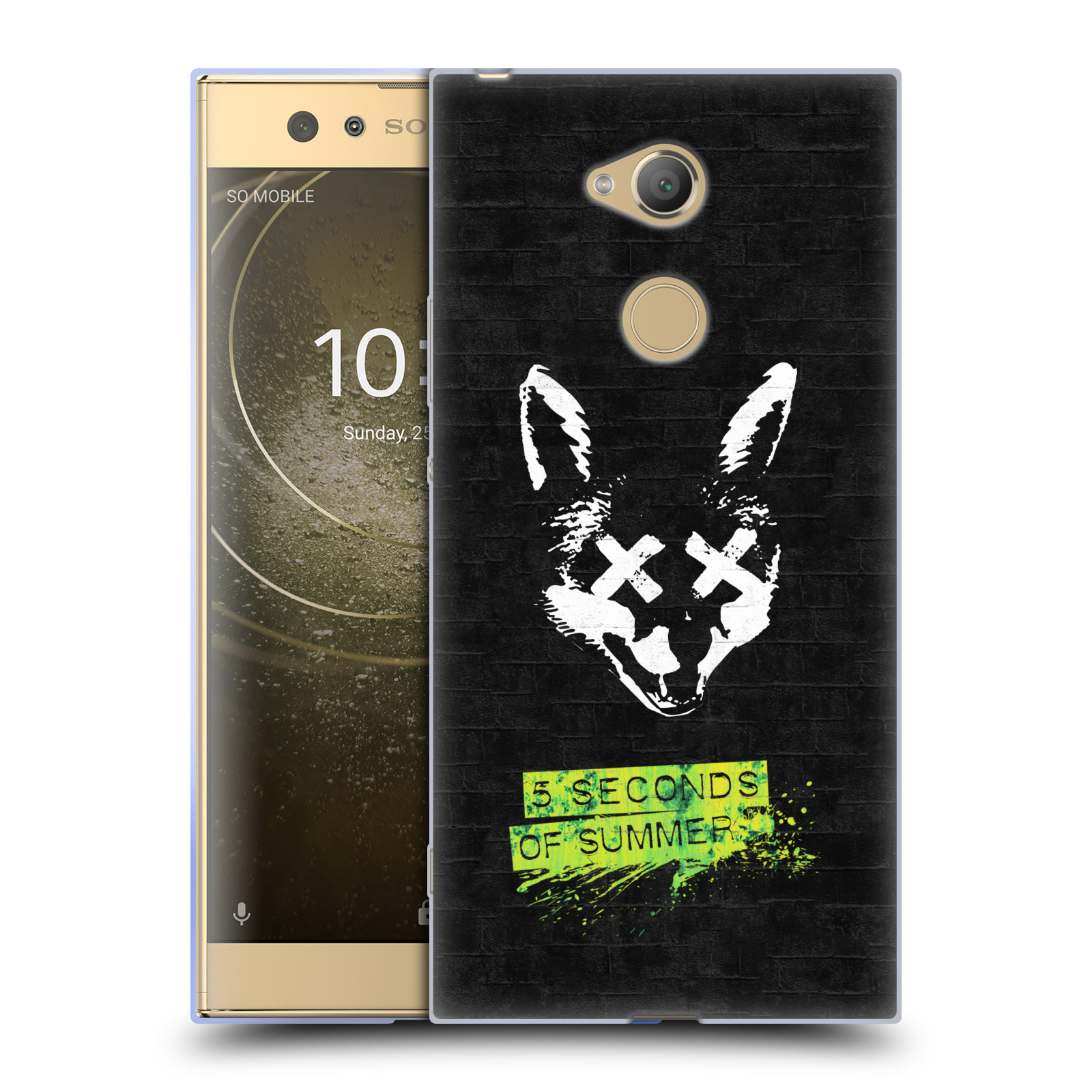 Silikonové pouzdro na mobil Sony Xperia XA2 Ultra - Head Case - 5 Seconds of Summer - Fox