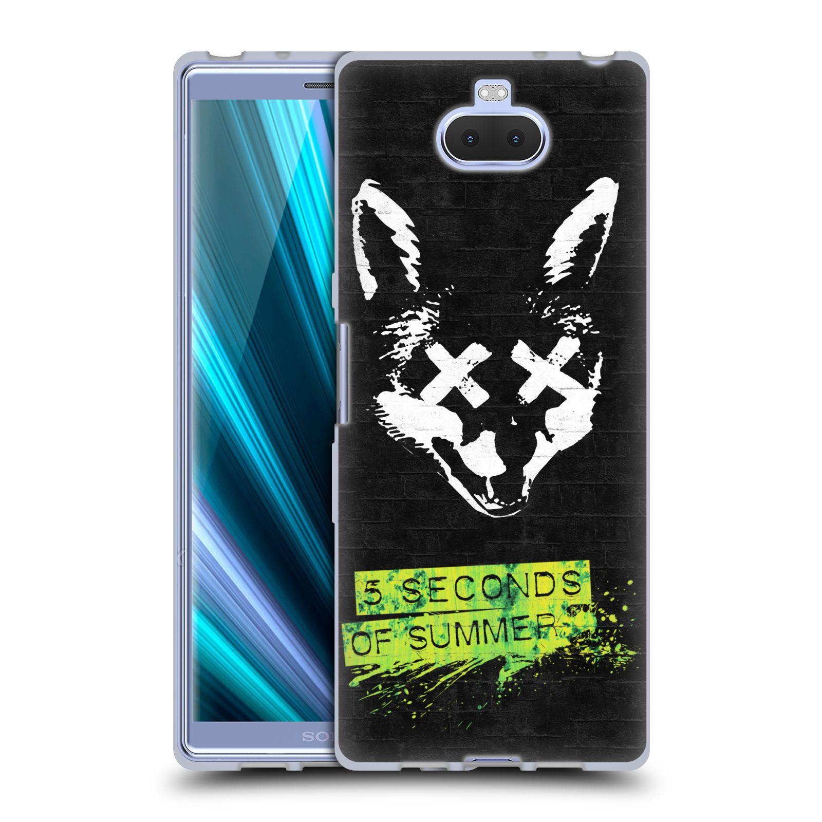 Silikonové pouzdro na mobil Sony Xperia 10 - Head Case - 5 Seconds of Summer - Fox