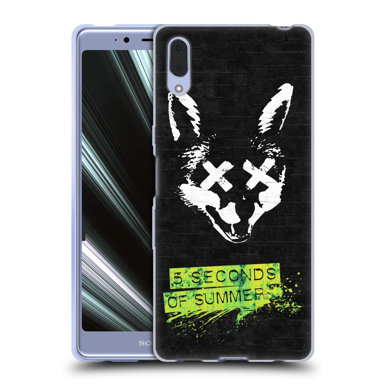 Silikonové pouzdro na mobil Sony Xperia L3 - Head Case - 5 Seconds of Summer - Fox