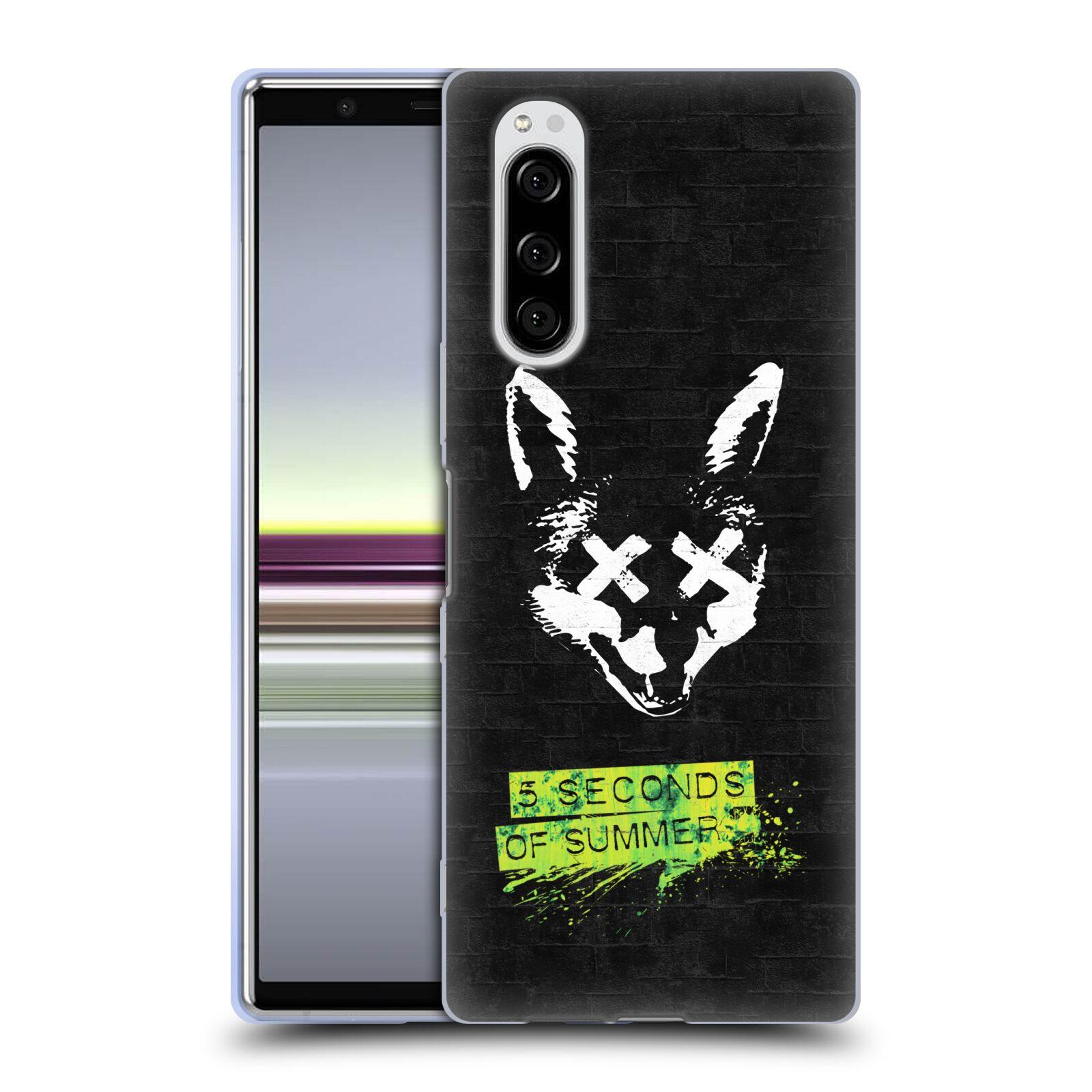 Silikonové pouzdro na mobil Sony Xperia 5 - Head Case - 5 Seconds of Summer - Fox