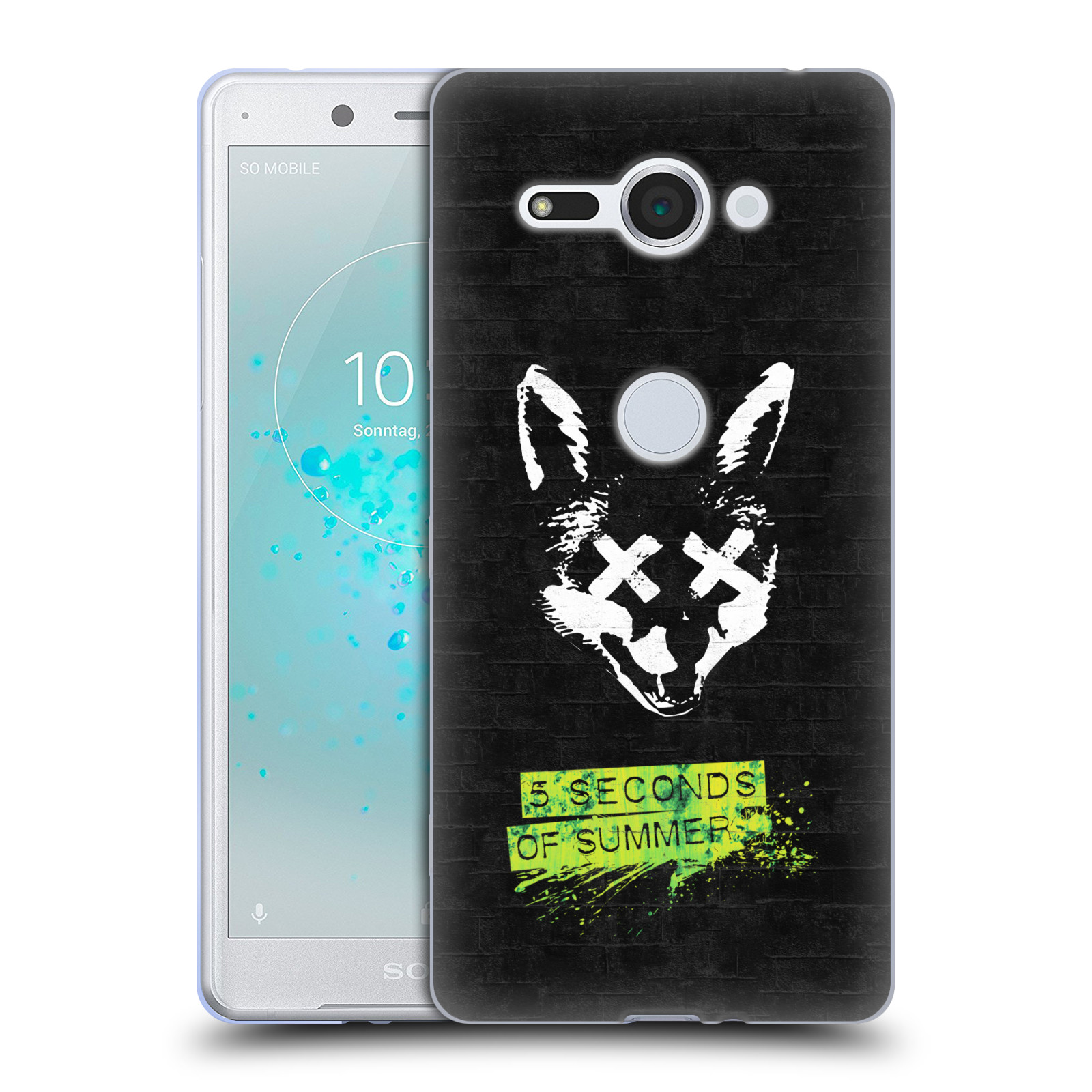 Silikonové pouzdro na mobil Sony Xperia XZ2 Compact - Head Case - 5 Seconds of Summer - Fox