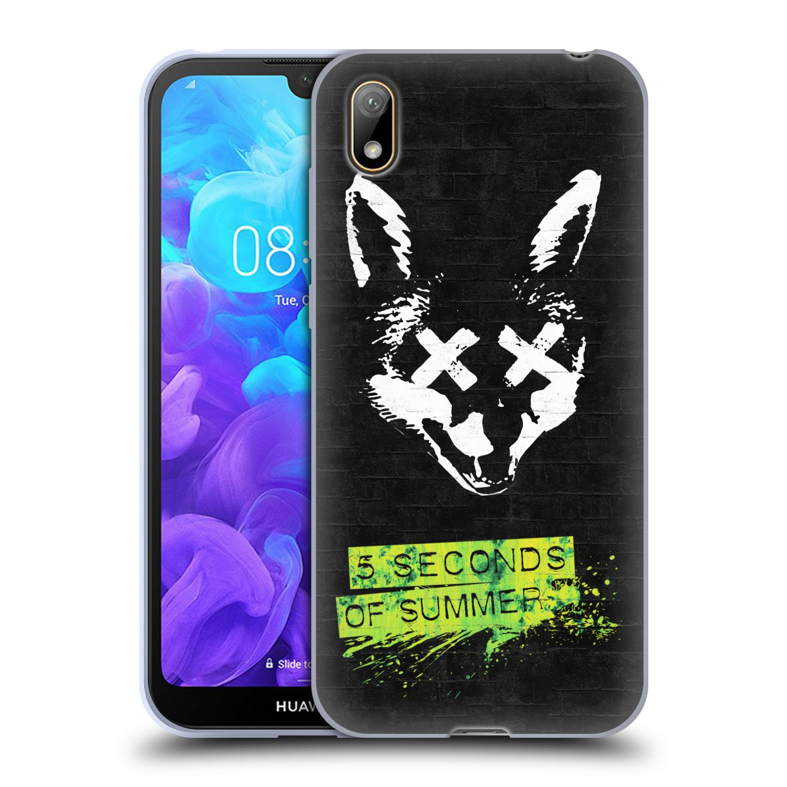 Silikonové pouzdro na mobil Honor 8S - Head Case - 5 Seconds of Summer - Fox