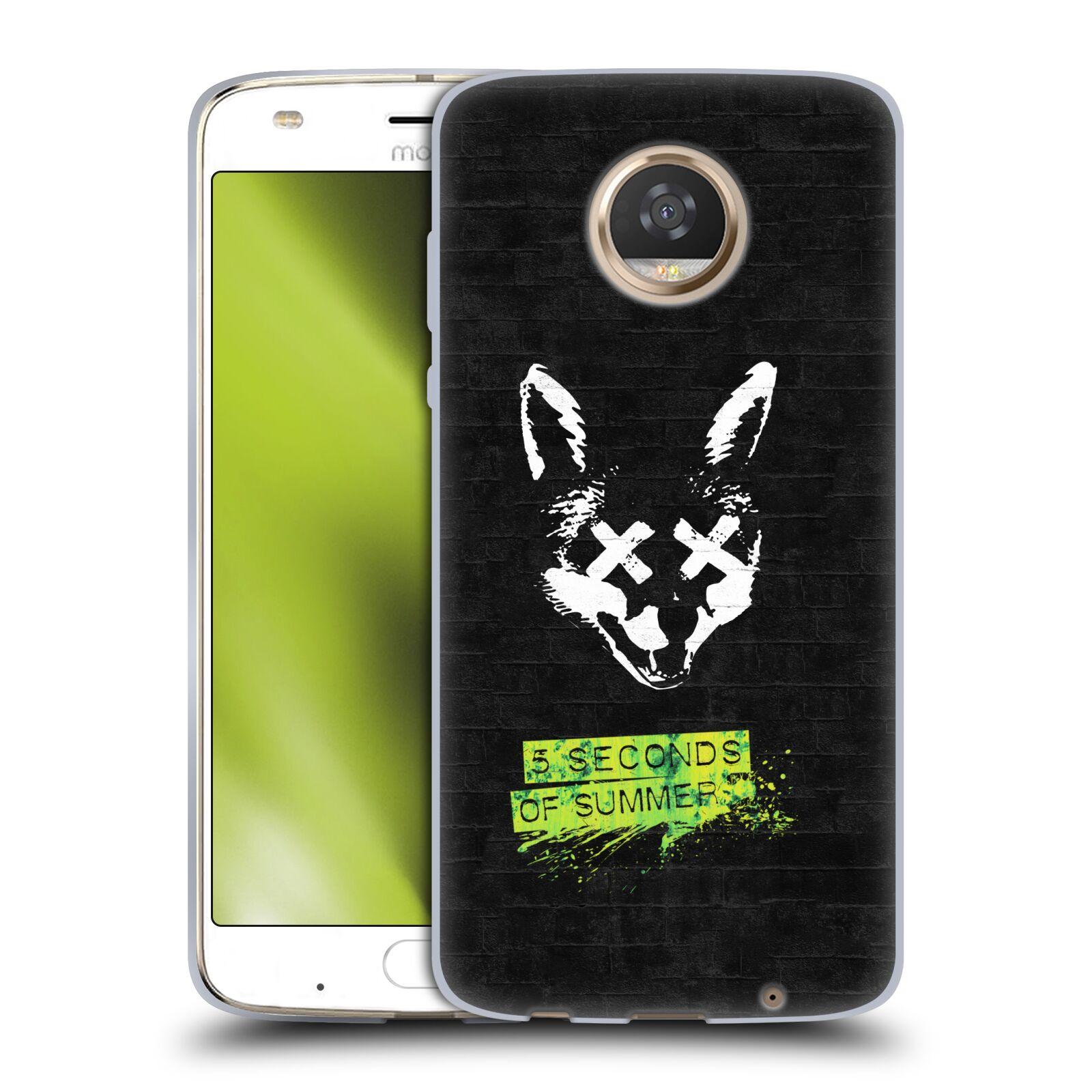 Silikonové pouzdro na mobil Lenovo Moto Z2 Play - Head Case - 5 Seconds of Summer - Fox
