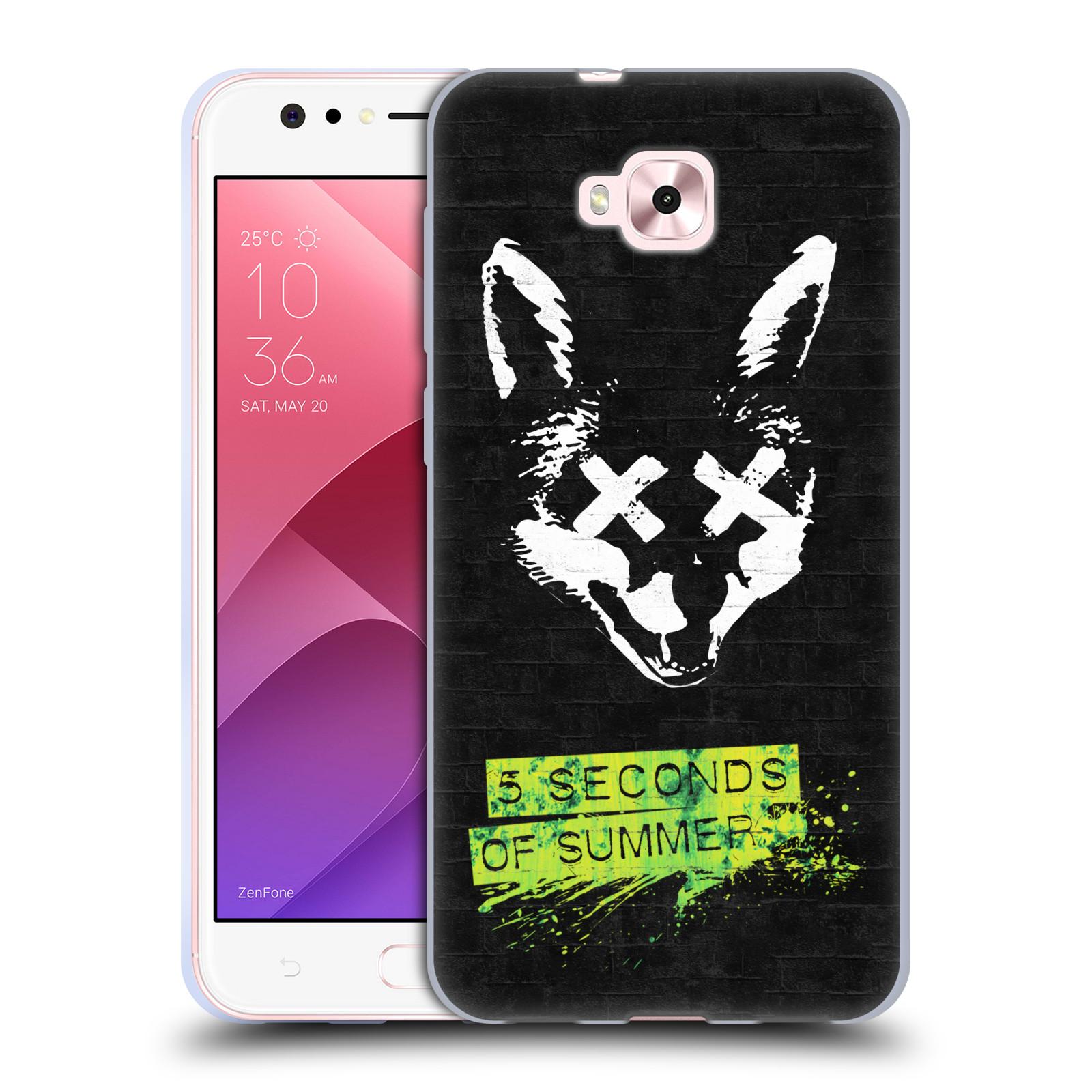 Silikonové pouzdro na mobil Asus Zenfone 4 Selfie ZD553KL - Head Case - 5 Seconds of Summer - Fox