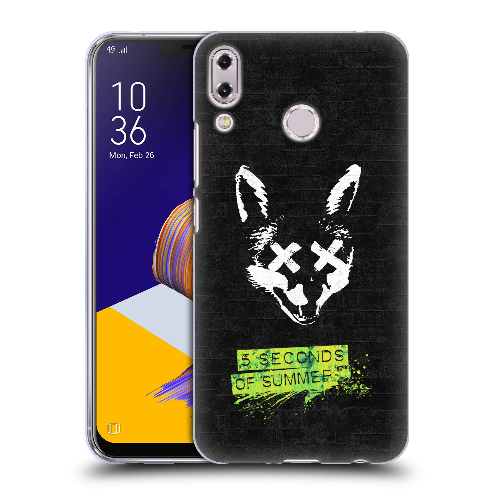 Silikonové pouzdro na mobil Asus ZenFone 5 ZE620KL - Head Case - 5 Seconds of Summer - Fox
