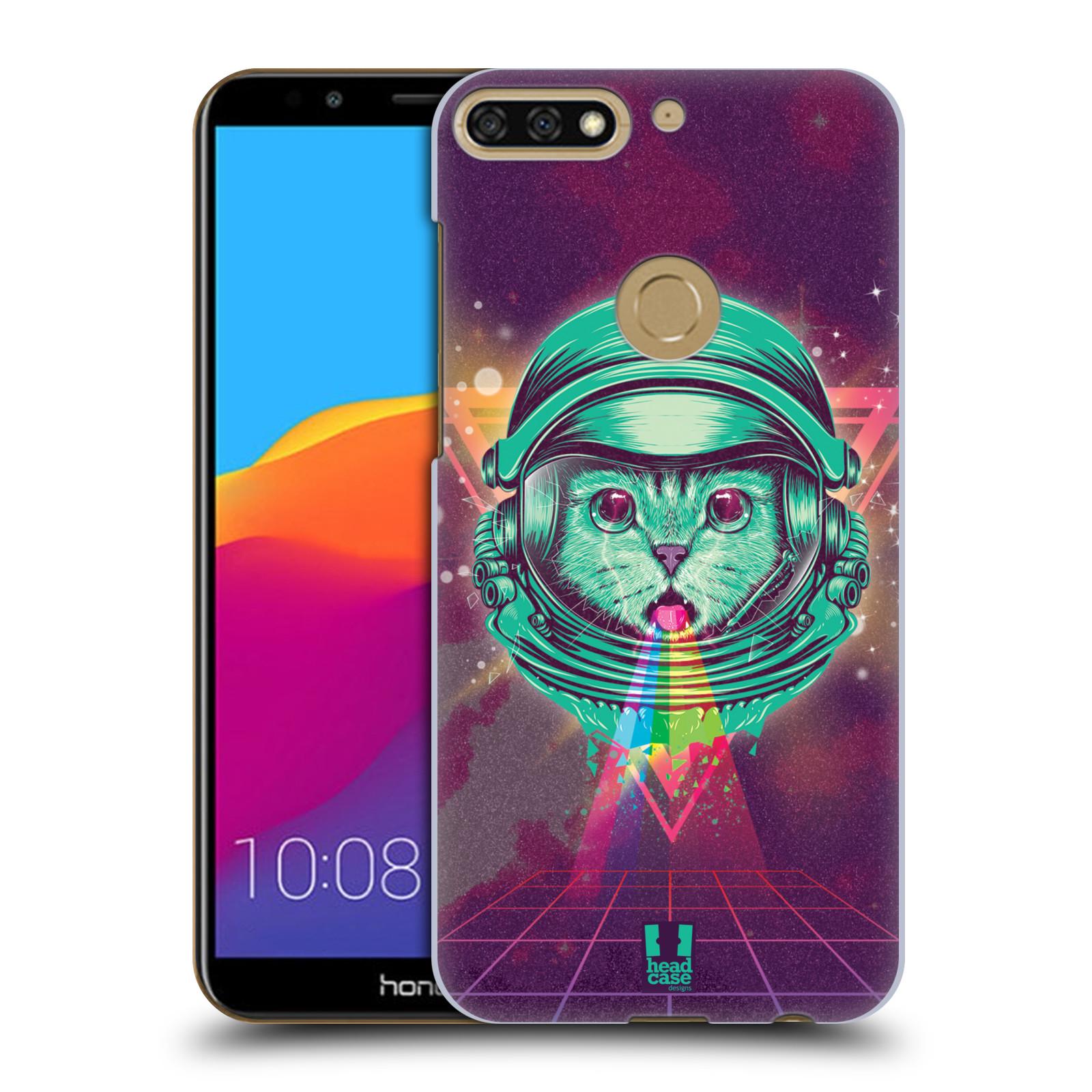 Plastové pouzdro na mobil Huawei Y7 Prime 2018 - Head Case - Kóča ve skafandru
