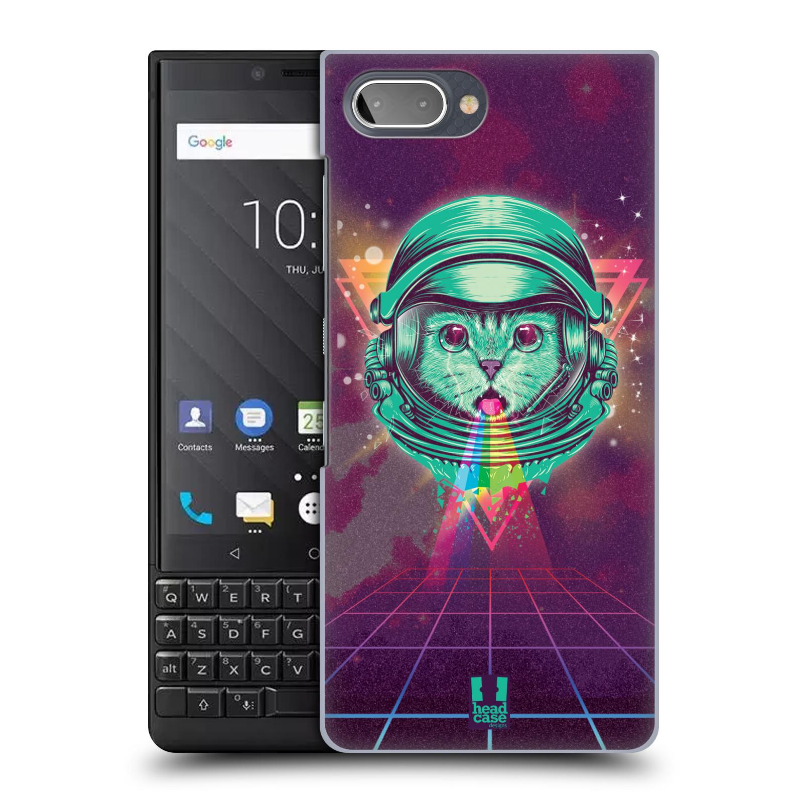 Plastové pouzdro na mobil Blackberry Key 2 - Head Case - Kóča ve skafandru