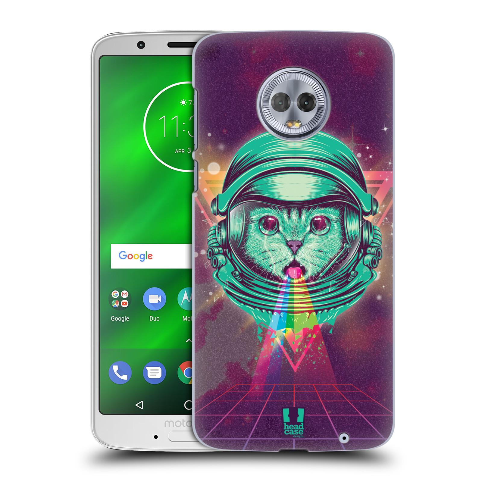 Plastové pouzdro na mobil Motorola Moto G6 Plus - Head Case - Kóča ve skafandru