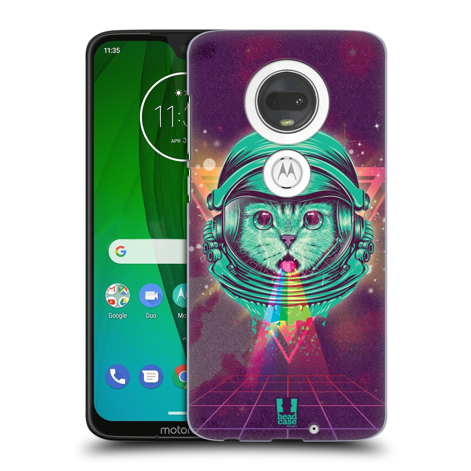 Plastové pouzdro na mobil Motorola Moto G7 - Head Case - Kóča ve skafandru