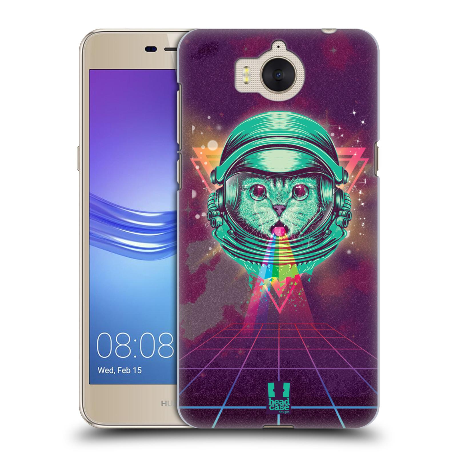 Plastové pouzdro na mobil Huawei Y6 2017 - Head Case - Kóča ve skafandru