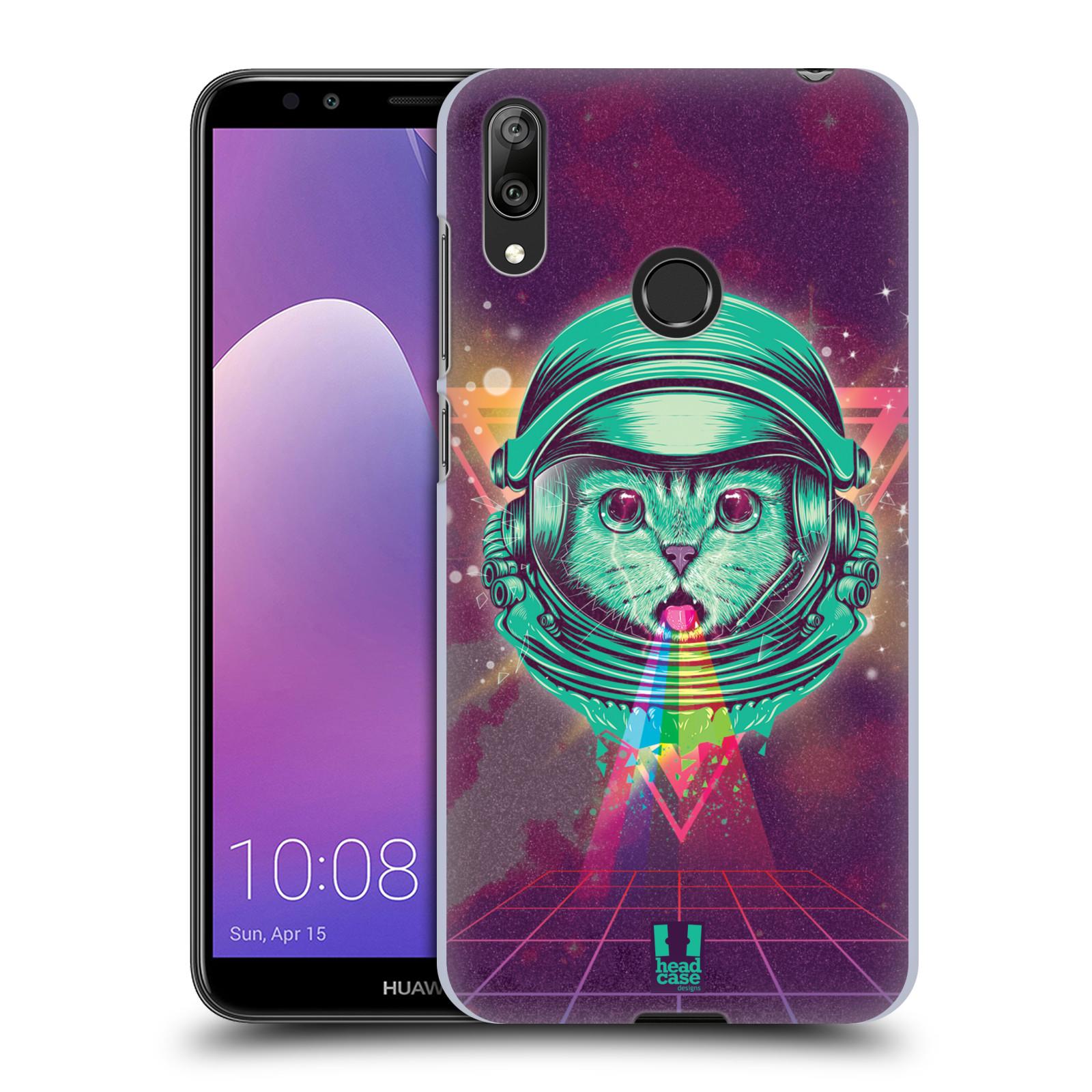 Plastové pouzdro na mobil Huawei Y7 (2019) - Head Case - Kóča ve skafandru