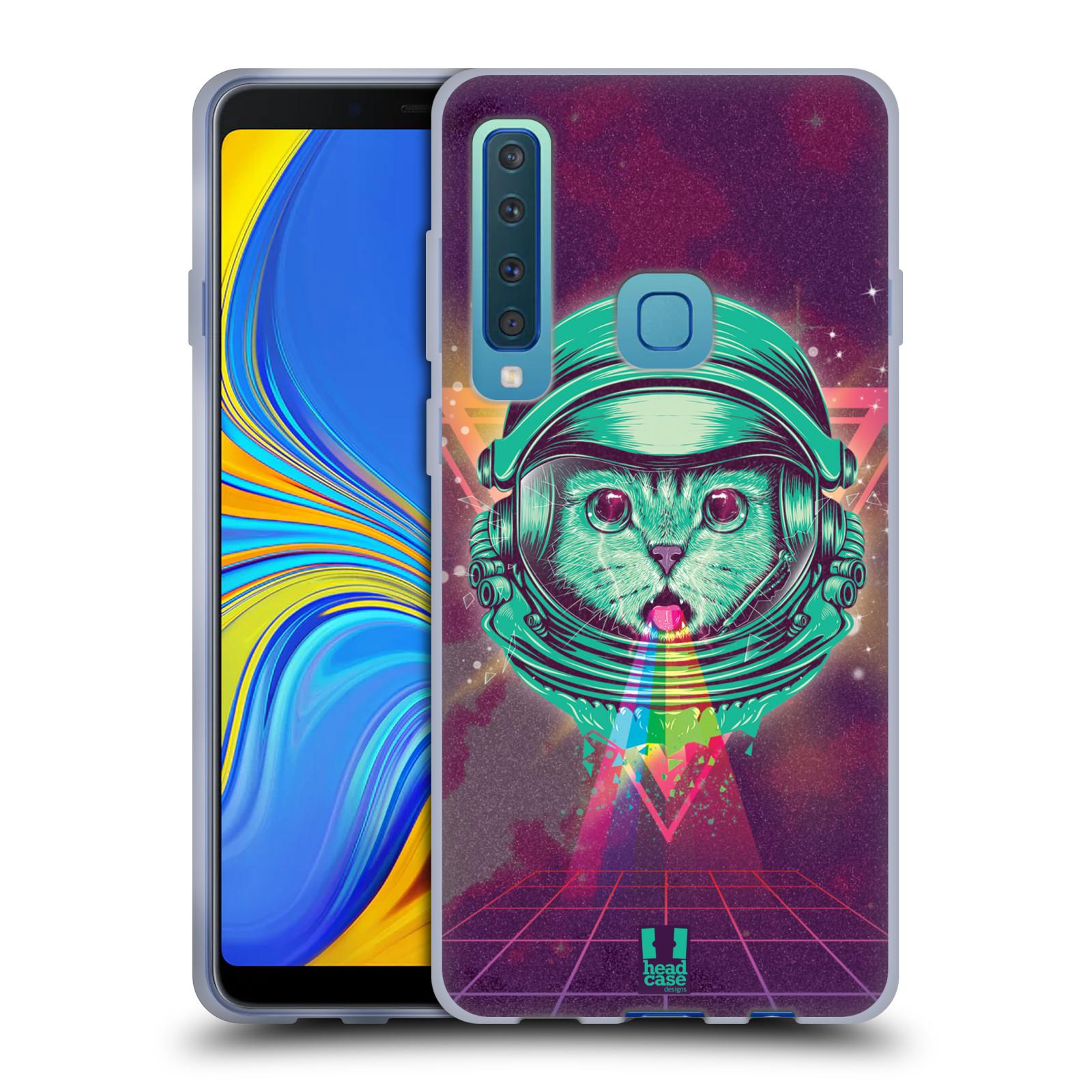 Silikonové pouzdro na mobil Samsung Galaxy A9 (2018) - Head Case - Kóča ve skafandru