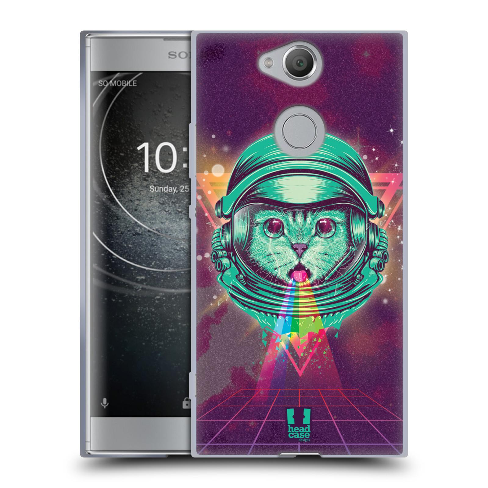 Silikonové pouzdro na mobil Sony Xperia XA2 - Head Case - Kóča ve skafandru