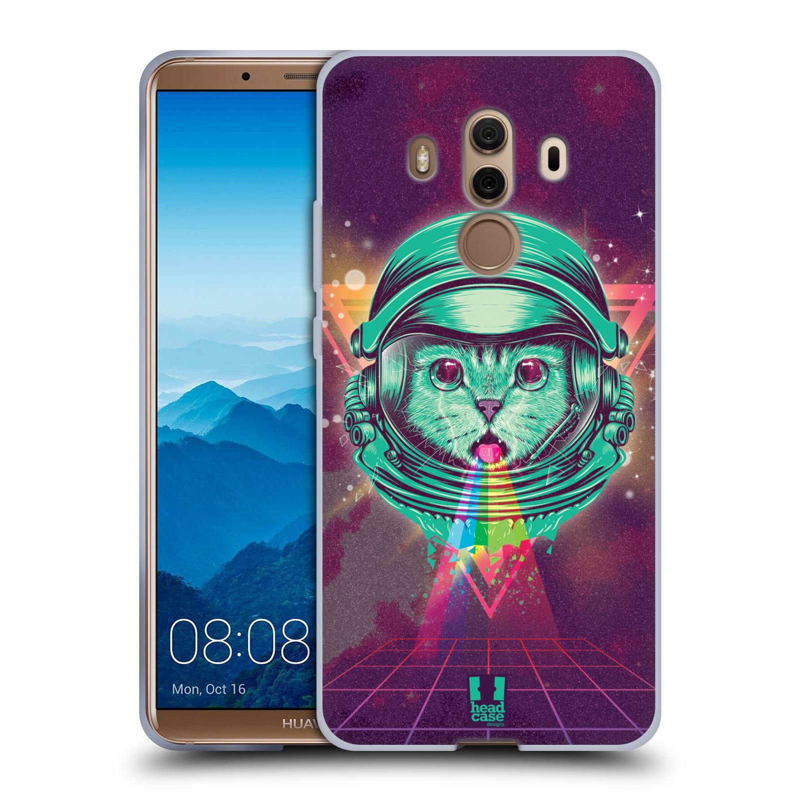 Silikonové pouzdro na mobil Huawei Mate 10 Pro - Head Case - Kóča ve skafandru