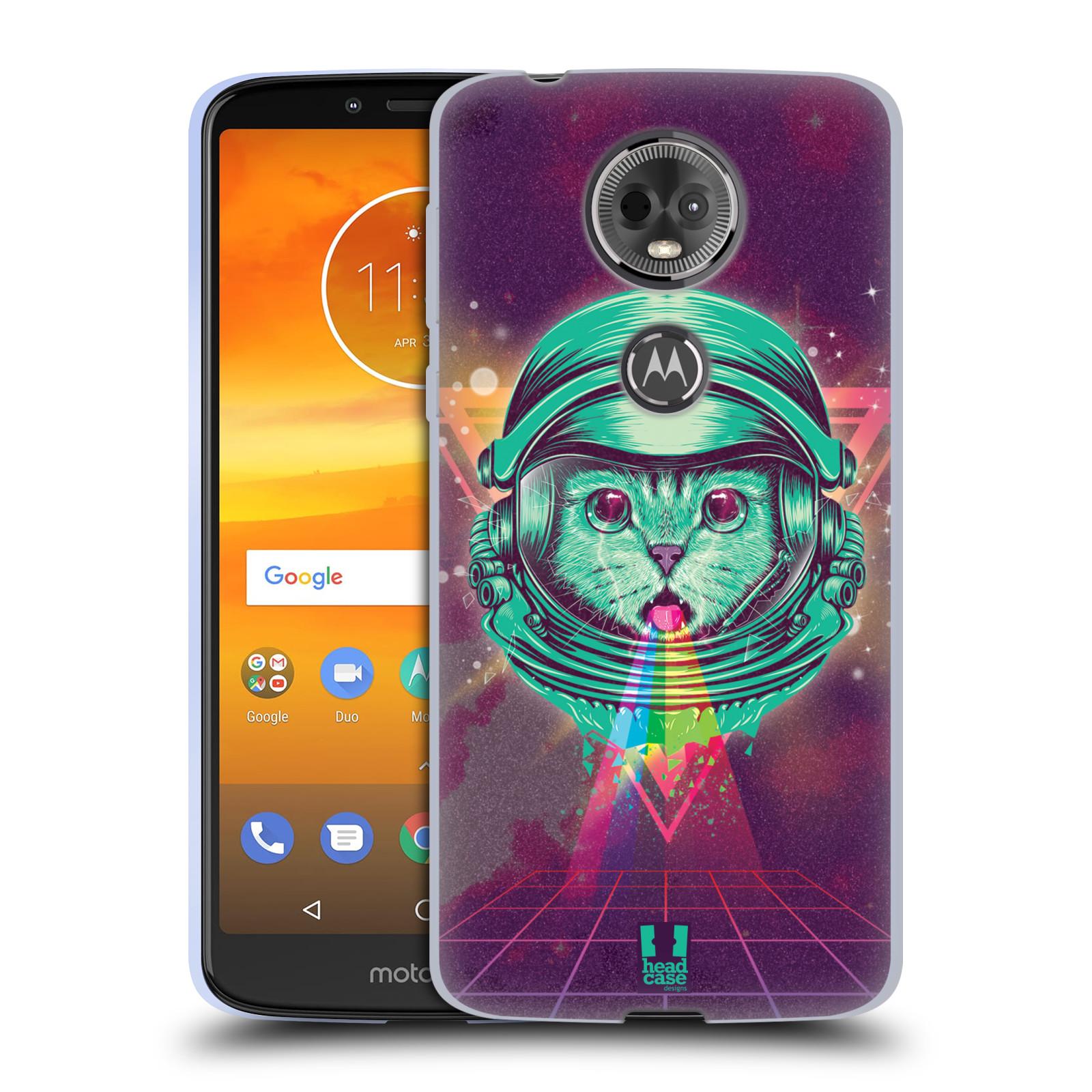 Silikonové pouzdro na mobil Motorola Moto E5 Plus - Head Case - Kóča ve skafandru