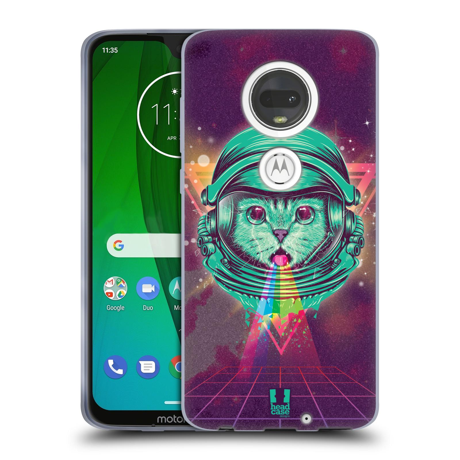 Silikonové pouzdro na mobil Motorola Moto G7 - Head Case - Kóča ve skafandru