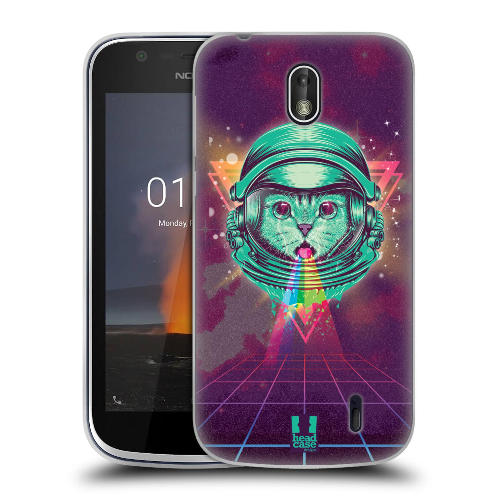 Silikonové pouzdro na mobil Nokia 1 - Head Case - Kóča ve skafandru