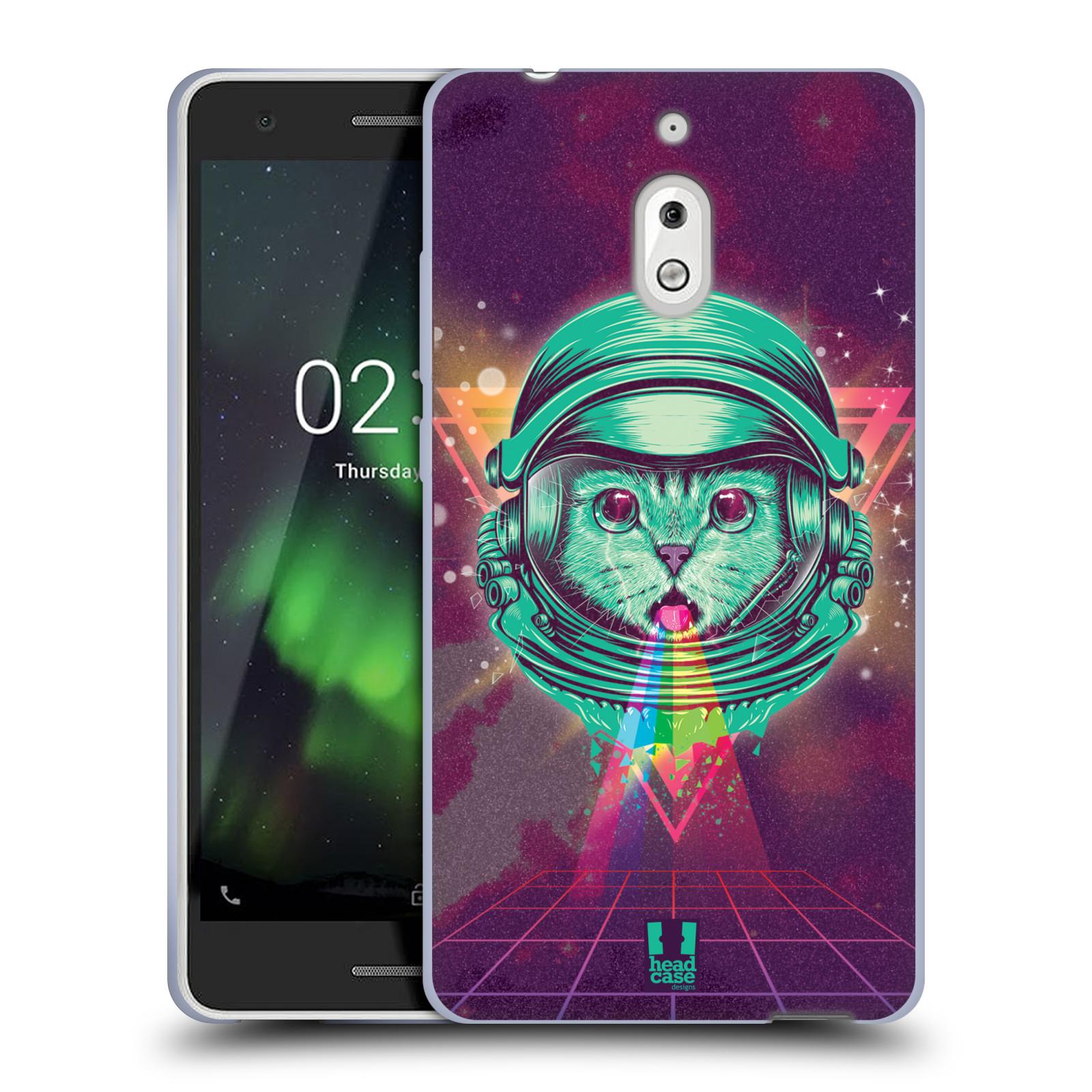 Silikonové pouzdro na mobil Nokia 2.1 - Head Case - Kóča ve skafandru