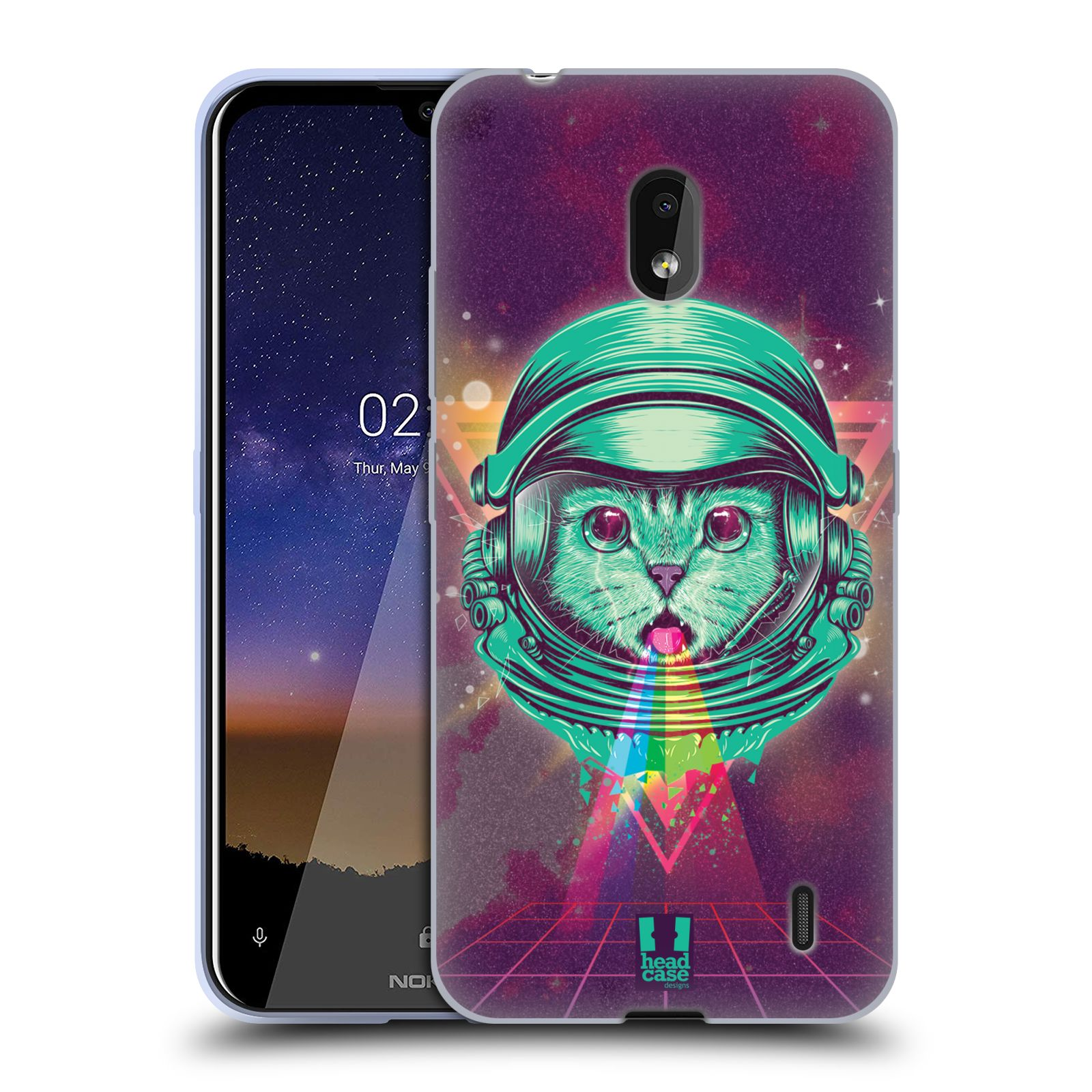 Silikonové pouzdro na mobil Nokia 2.2 - Head Case - Kóča ve skafandru