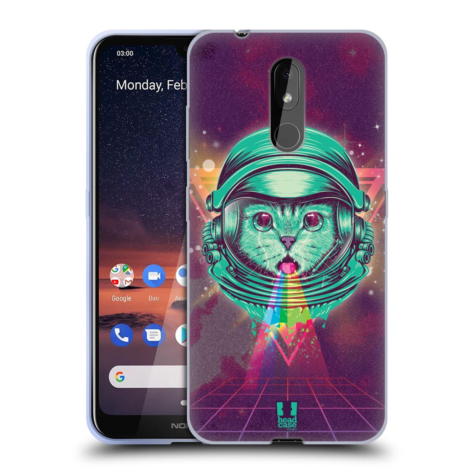 Silikonové pouzdro na mobil Nokia 3.2 - Head Case - Kóča ve skafandru