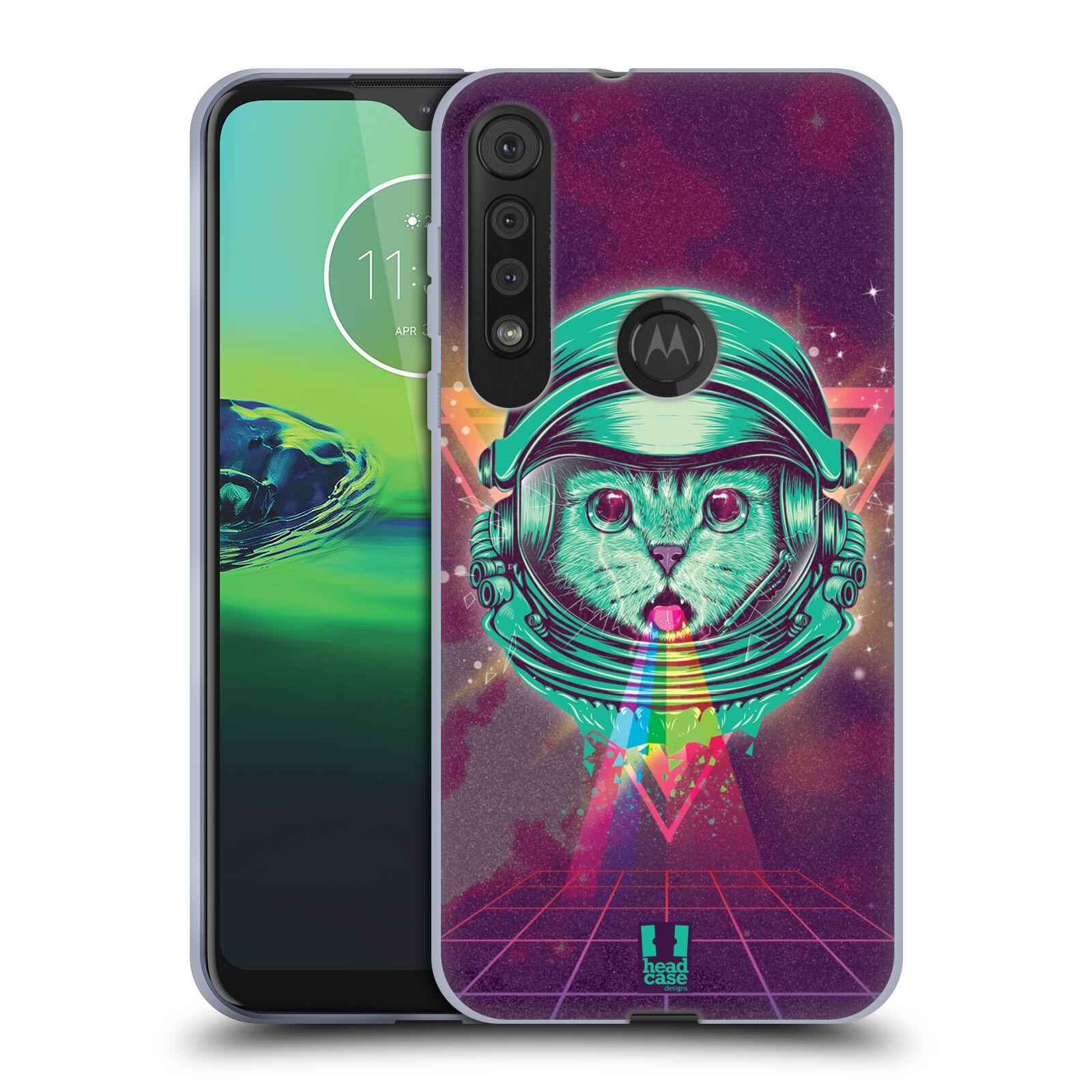Silikonové pouzdro na mobil Motorola One Macro - Head Case - Kóča ve skafandru