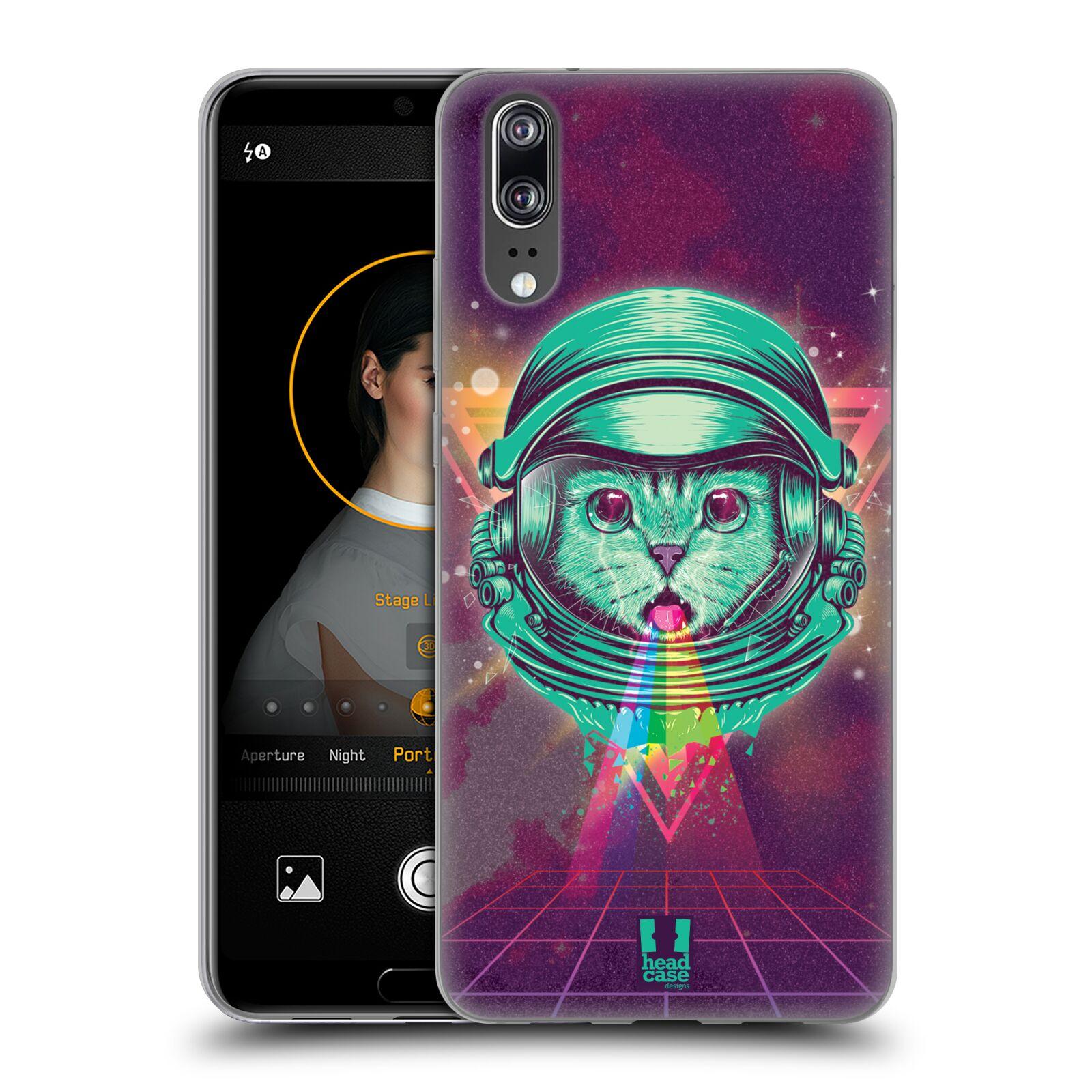 Silikonové pouzdro na mobil Huawei P20 - Head Case - Kóča ve skafandru