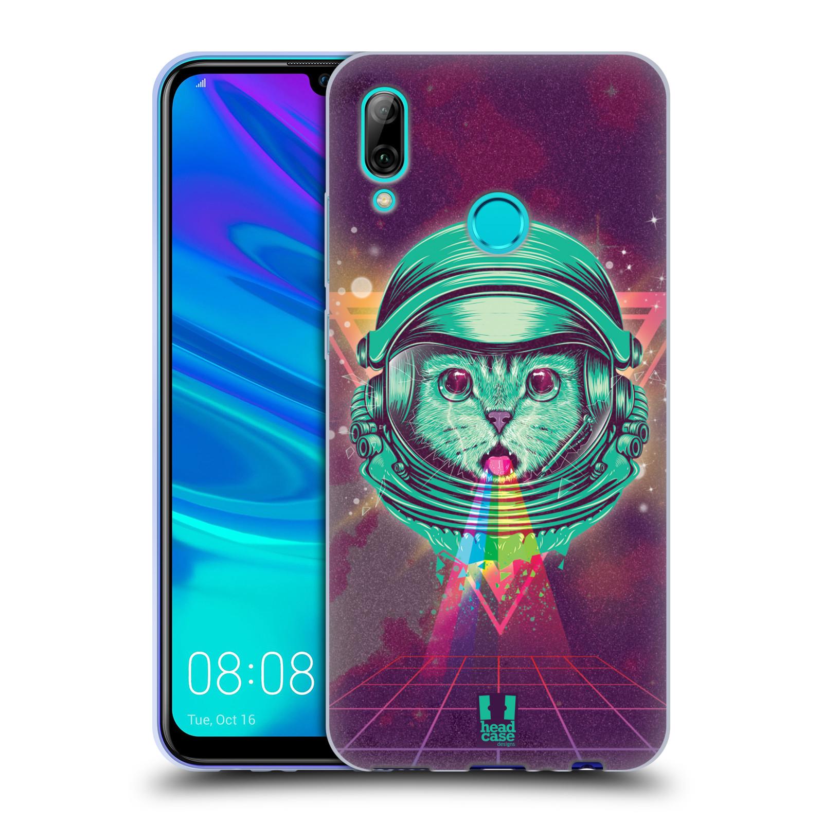Silikonové pouzdro na mobil Huawei P Smart (2019) - Head Case - Kóča ve skafandru