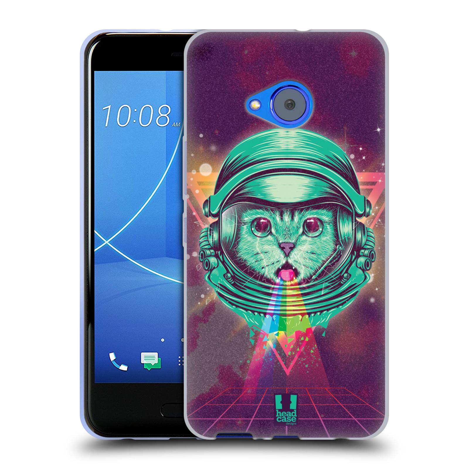 Silikonové pouzdro na mobil HTC U11 Life - Head Case - Kóča ve skafandru