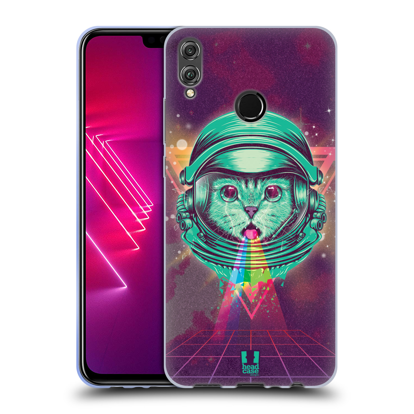 Silikonové pouzdro na mobil Honor View 10 Lite - Head Case - Kóča ve skafandru