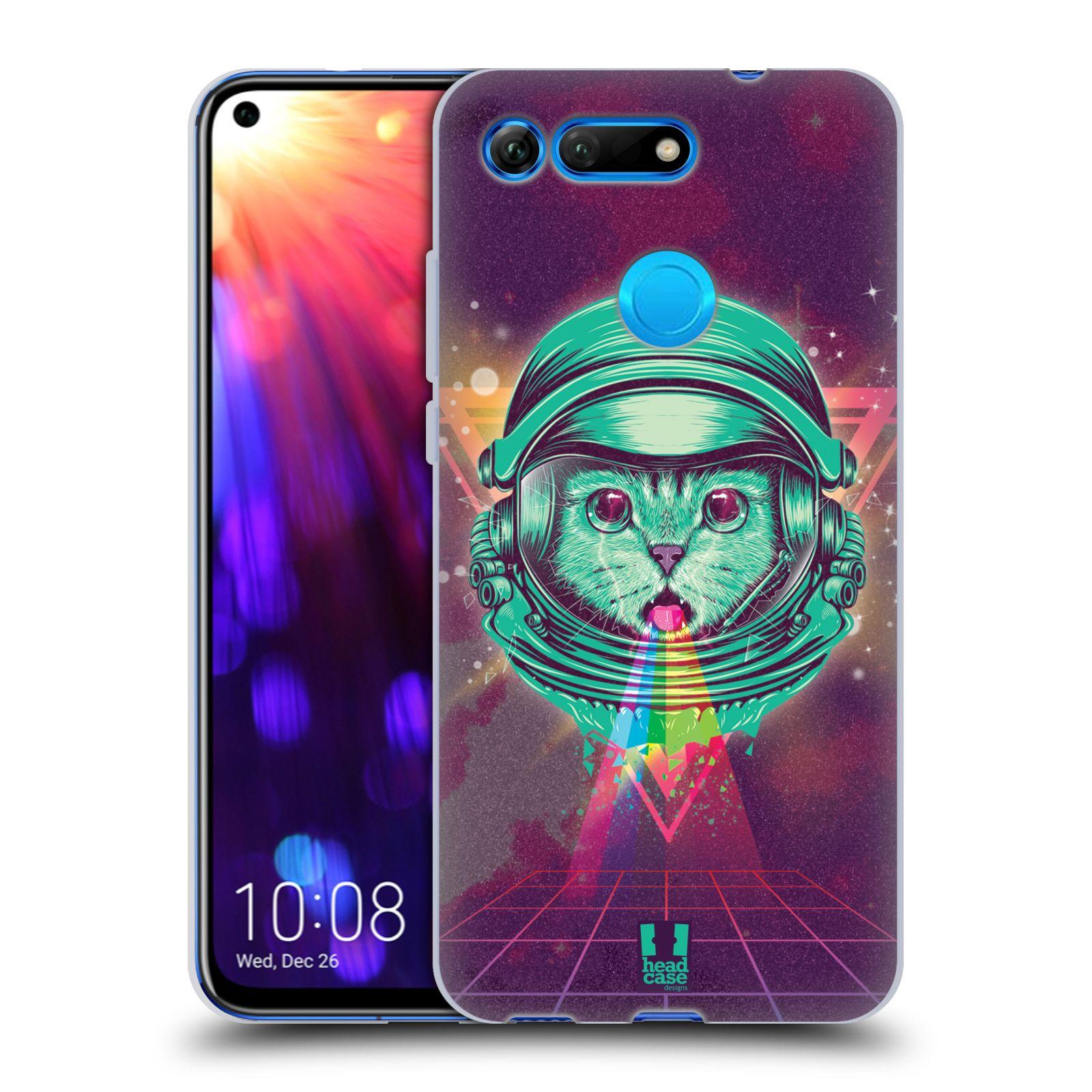 Silikonové pouzdro na mobil Honor View 20 - Head Case - Kóča ve skafandru