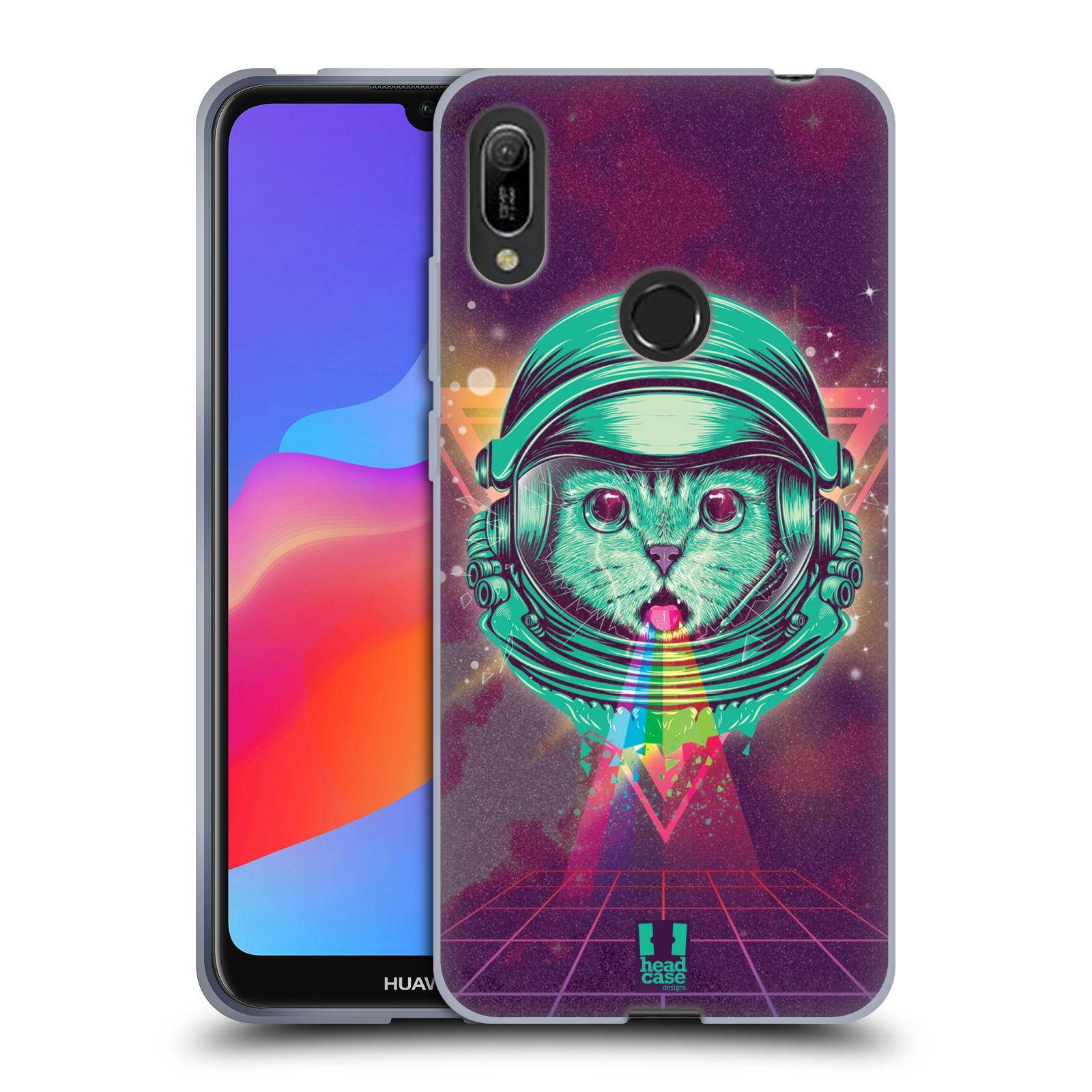 Silikonové pouzdro na mobil Huawei Y6 (2019) - Head Case - Kóča ve skafandru