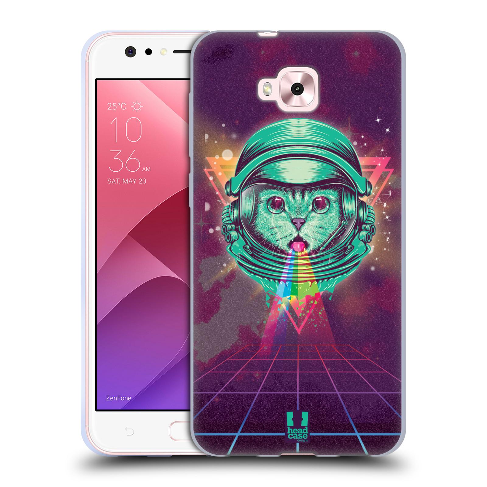 Silikonové pouzdro na mobil Asus Zenfone 4 Selfie ZD553KL - Head Case - Kóča ve skafandru