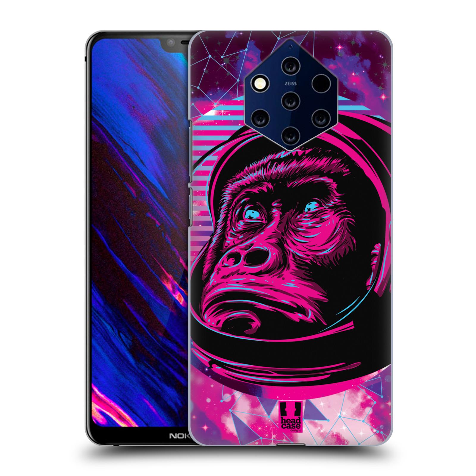 Plastové pouzdro na mobil Nokia 9 PureView - Head Case - Gorila ve skafandru