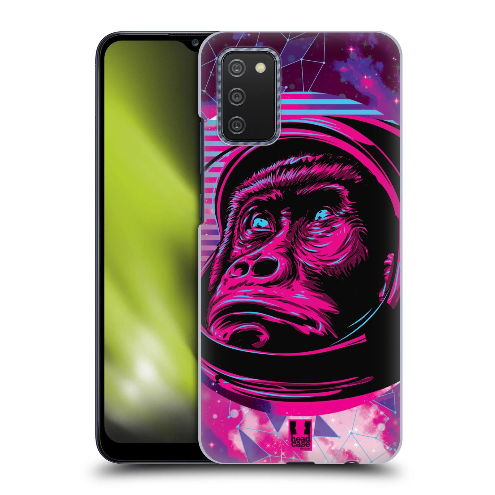 Plastové pouzdro na mobil Samsung Galaxy A02s - Head Case - Gorila ve skafandru
