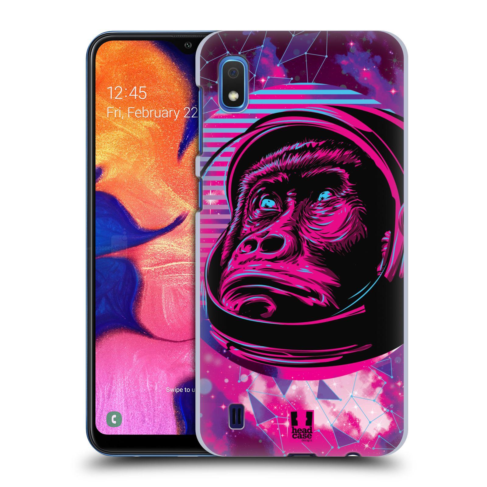 Plastové pouzdro na mobil Samsung Galaxy A10 - Head Case - Gorila ve skafandru