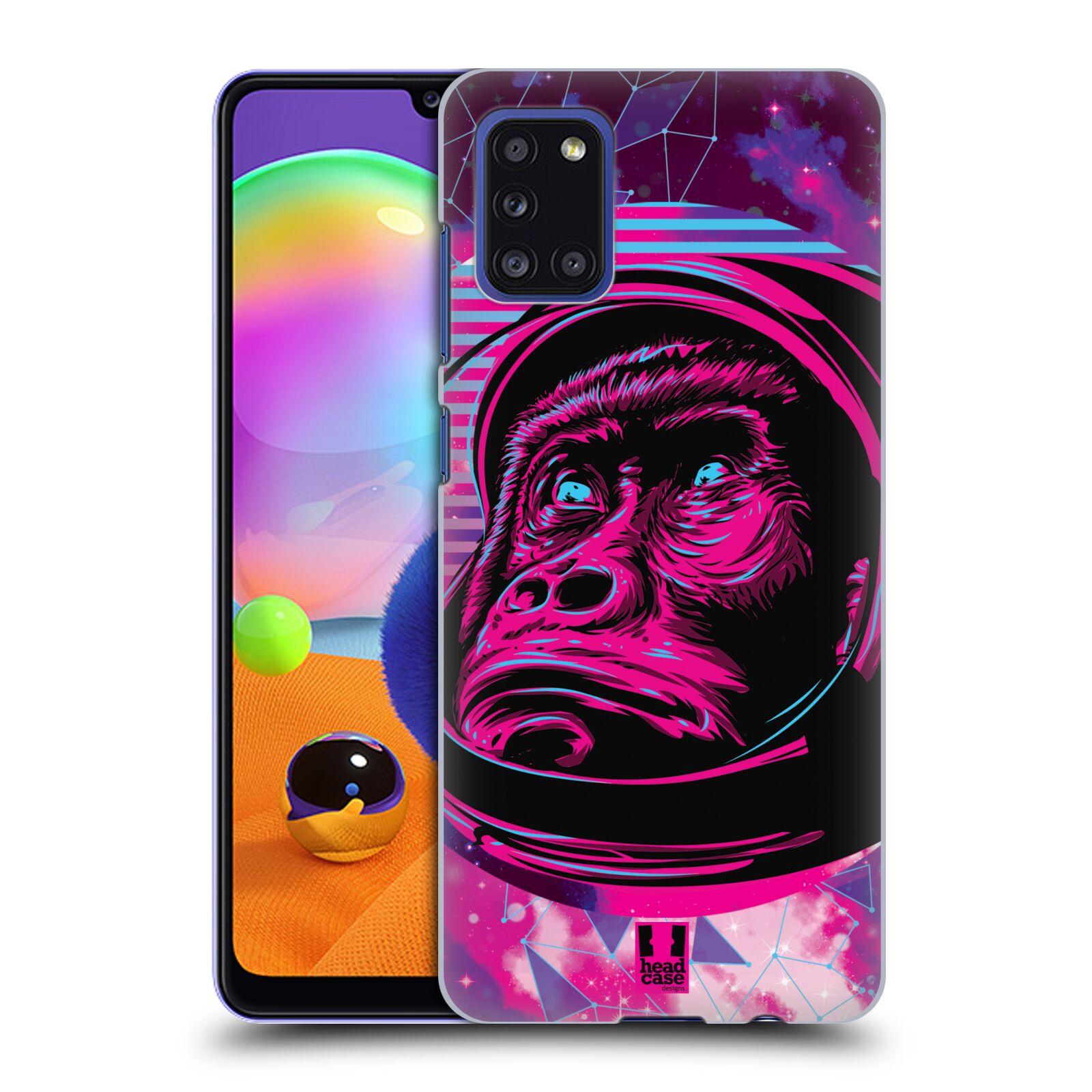 Plastové pouzdro na mobil Samsung Galaxy A31 - Head Case - Gorila ve skafandru