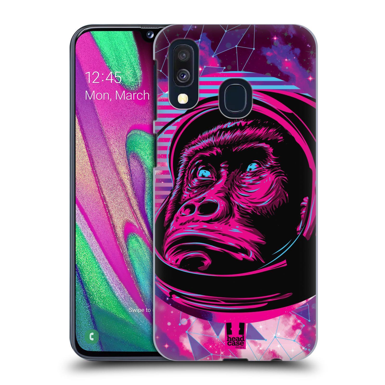Plastové pouzdro na mobil Samsung Galaxy A40 - Head Case - Gorila ve skafandru