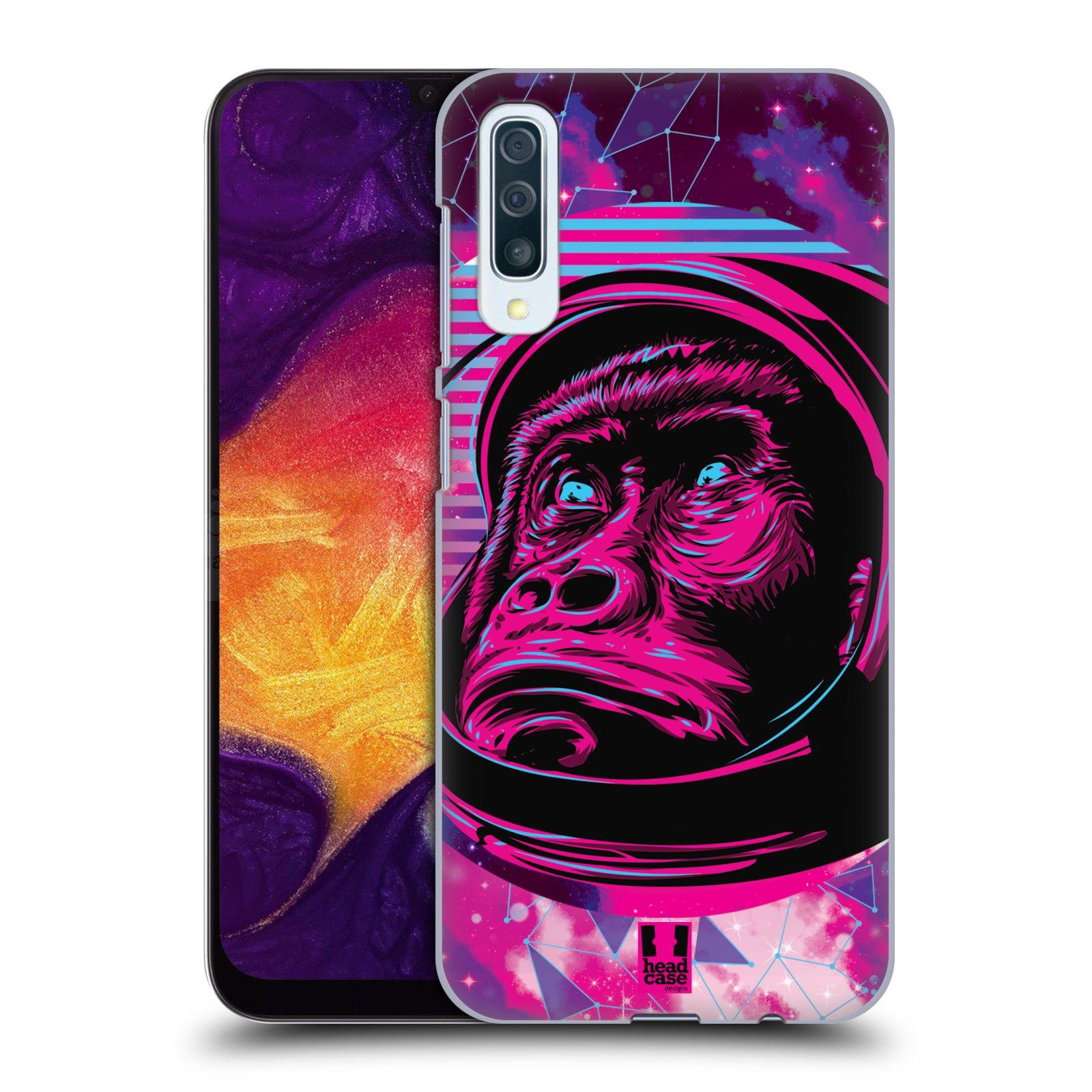 Plastové pouzdro na mobil Samsung Galaxy A50 - Head Case - Gorila ve skafandru